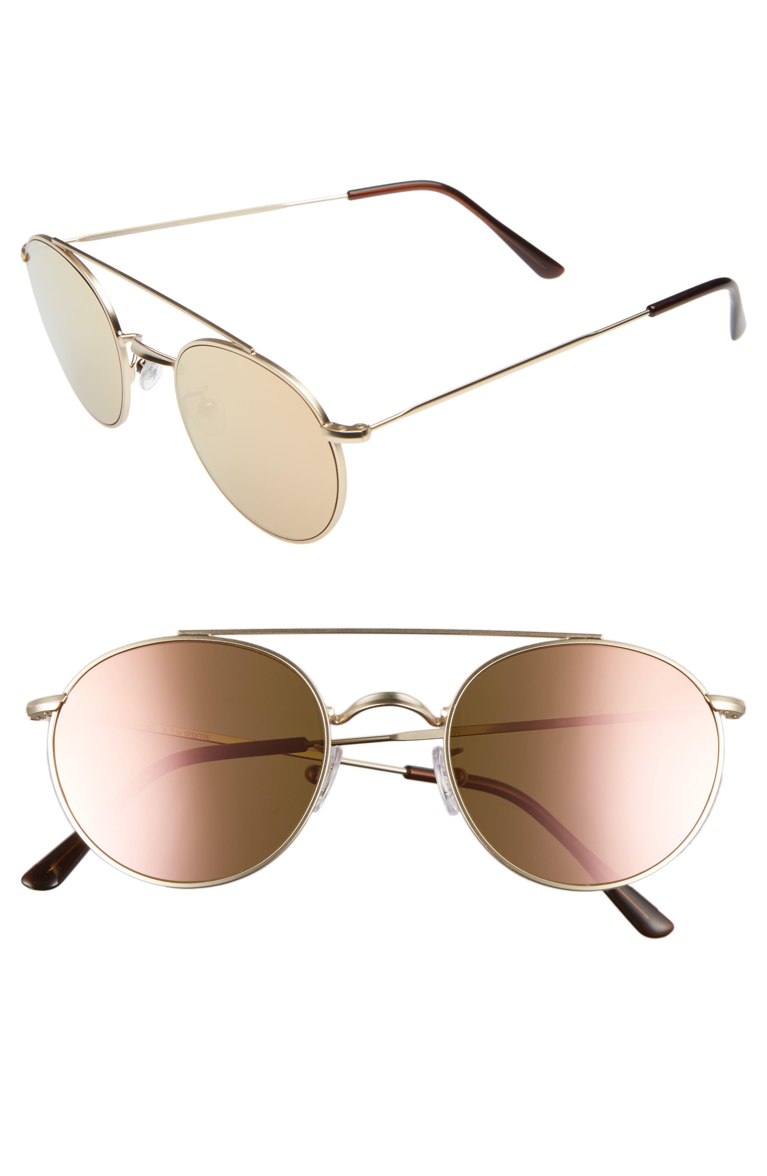 Spektre Caligola 50mm Aviator Sunglasses