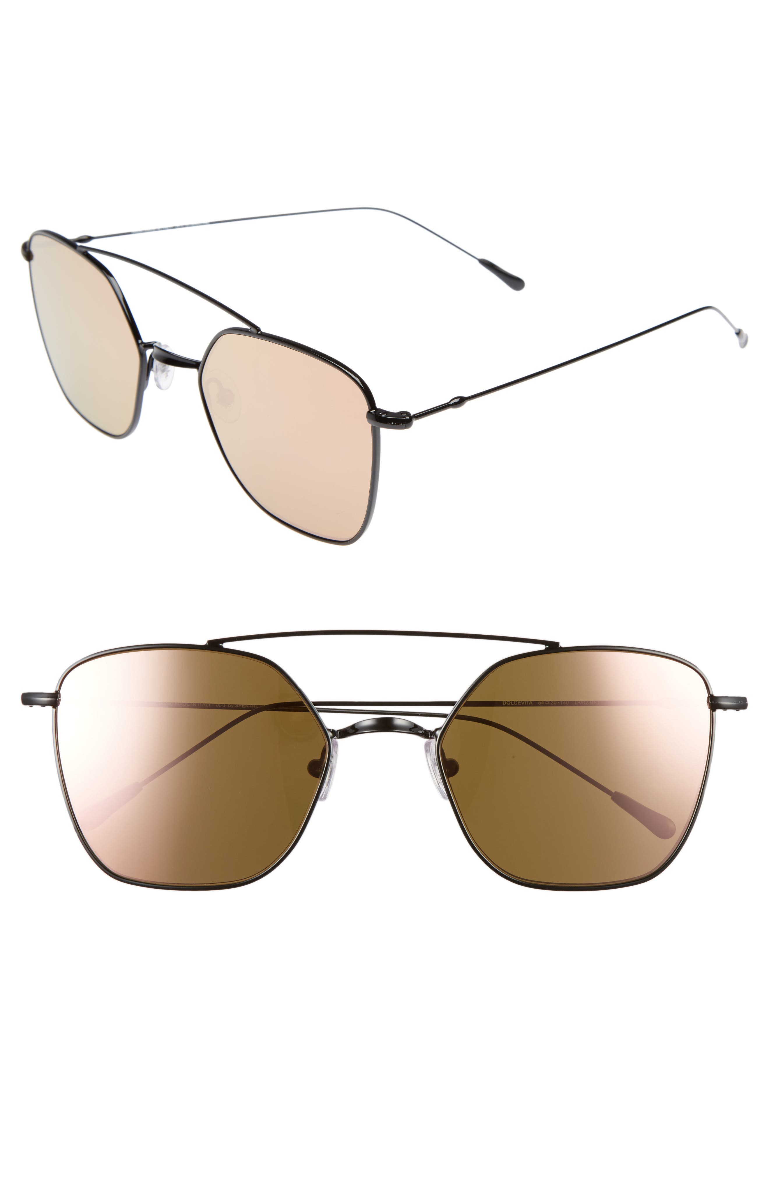 Spektre Dolce Vita 54mm Aviator Sunglasses
