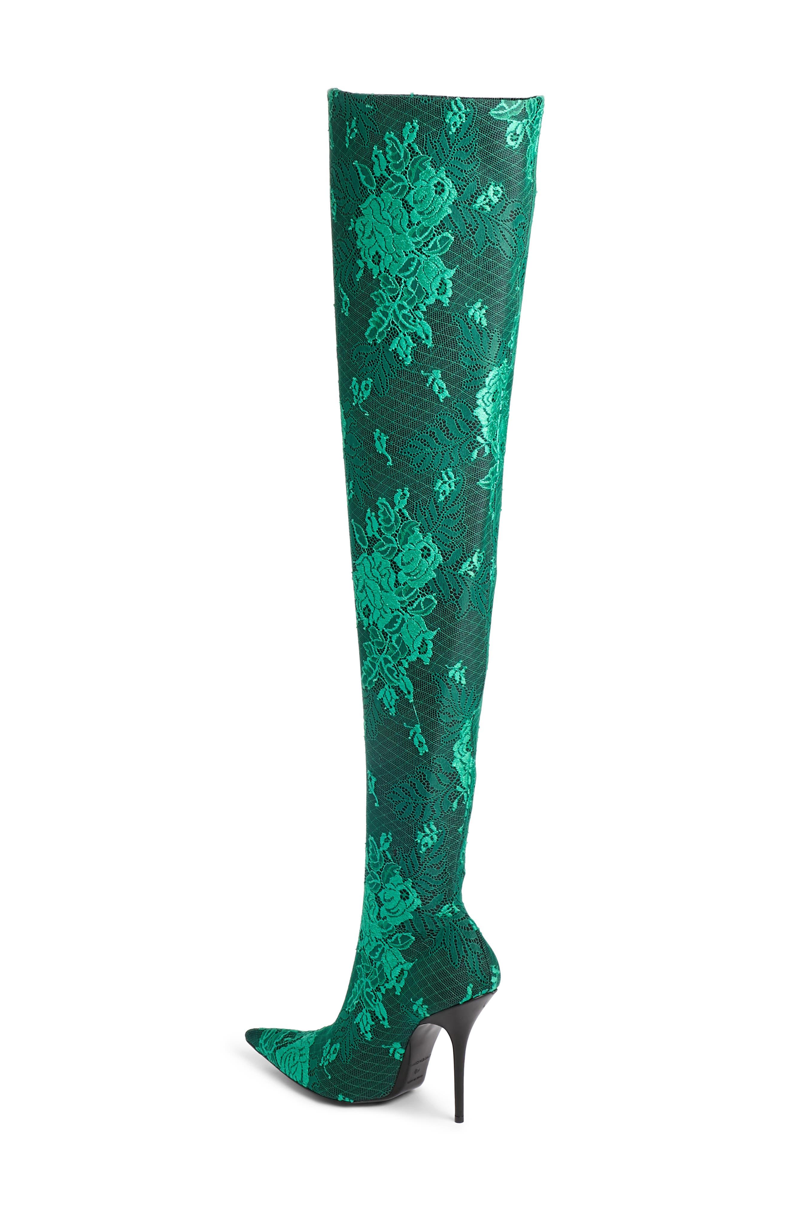 Alternate Image 2  - Balenciaga Thigh High Boot (Women)