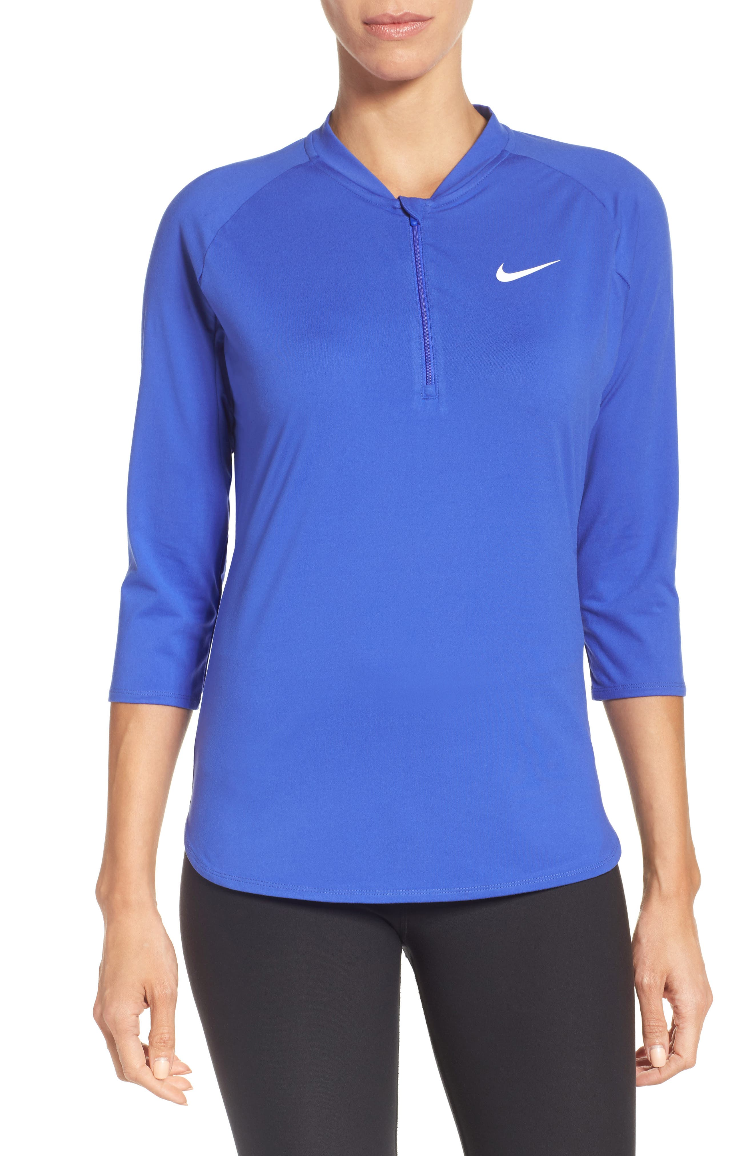 Nike Court Pure Half Zip Pullover