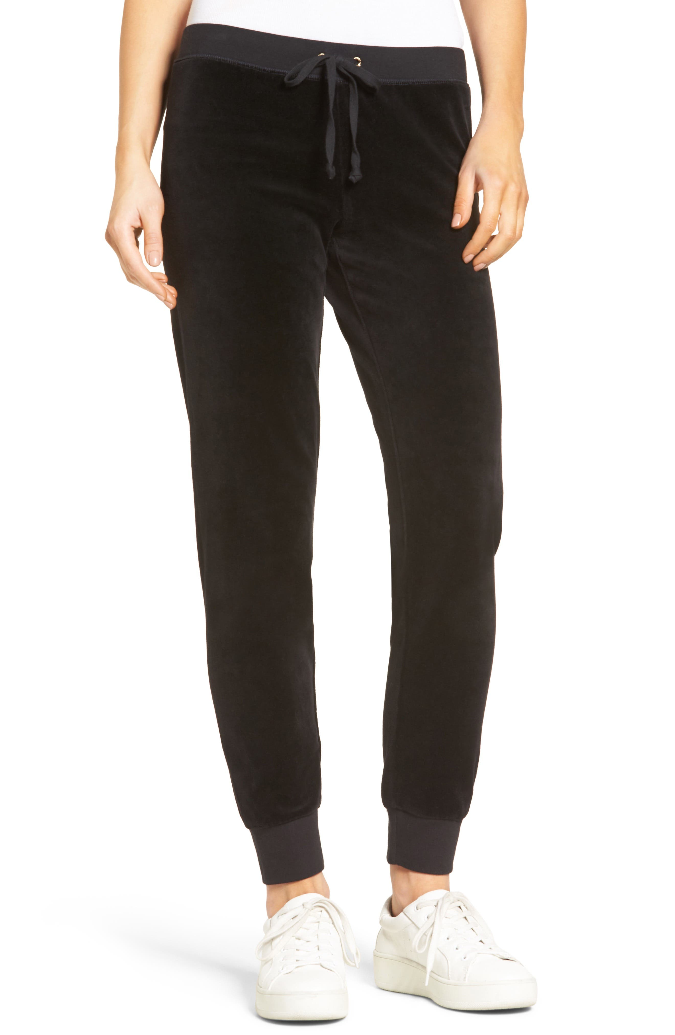 Alternate Image 1 Selected - Juicy Couture Zuma Velour Track Pants