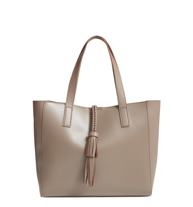 Main Image - Sole Society Zyla Faux Leather Tote