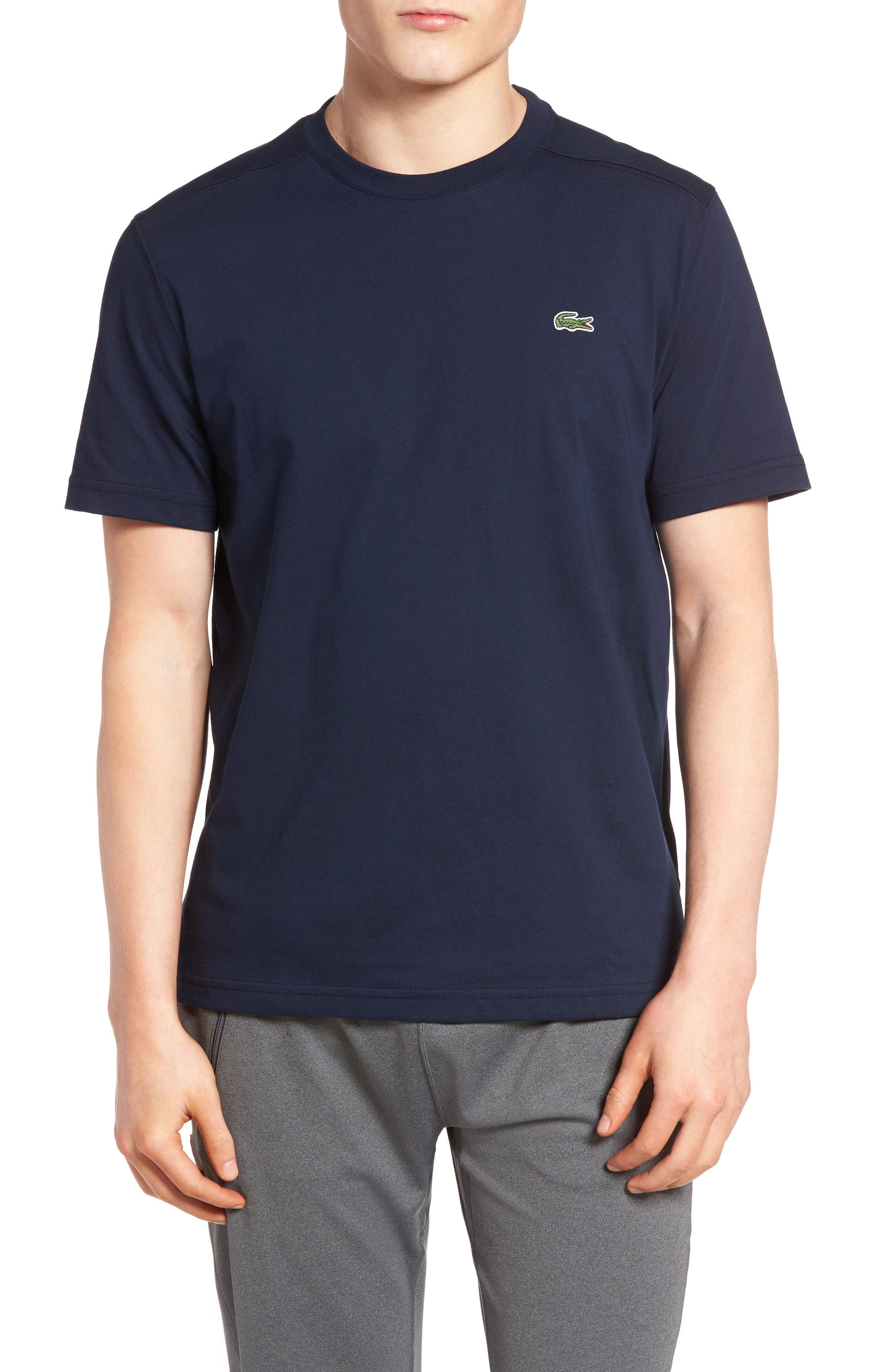 Lacoste'Sport' Cotton Jersey T-Shirt