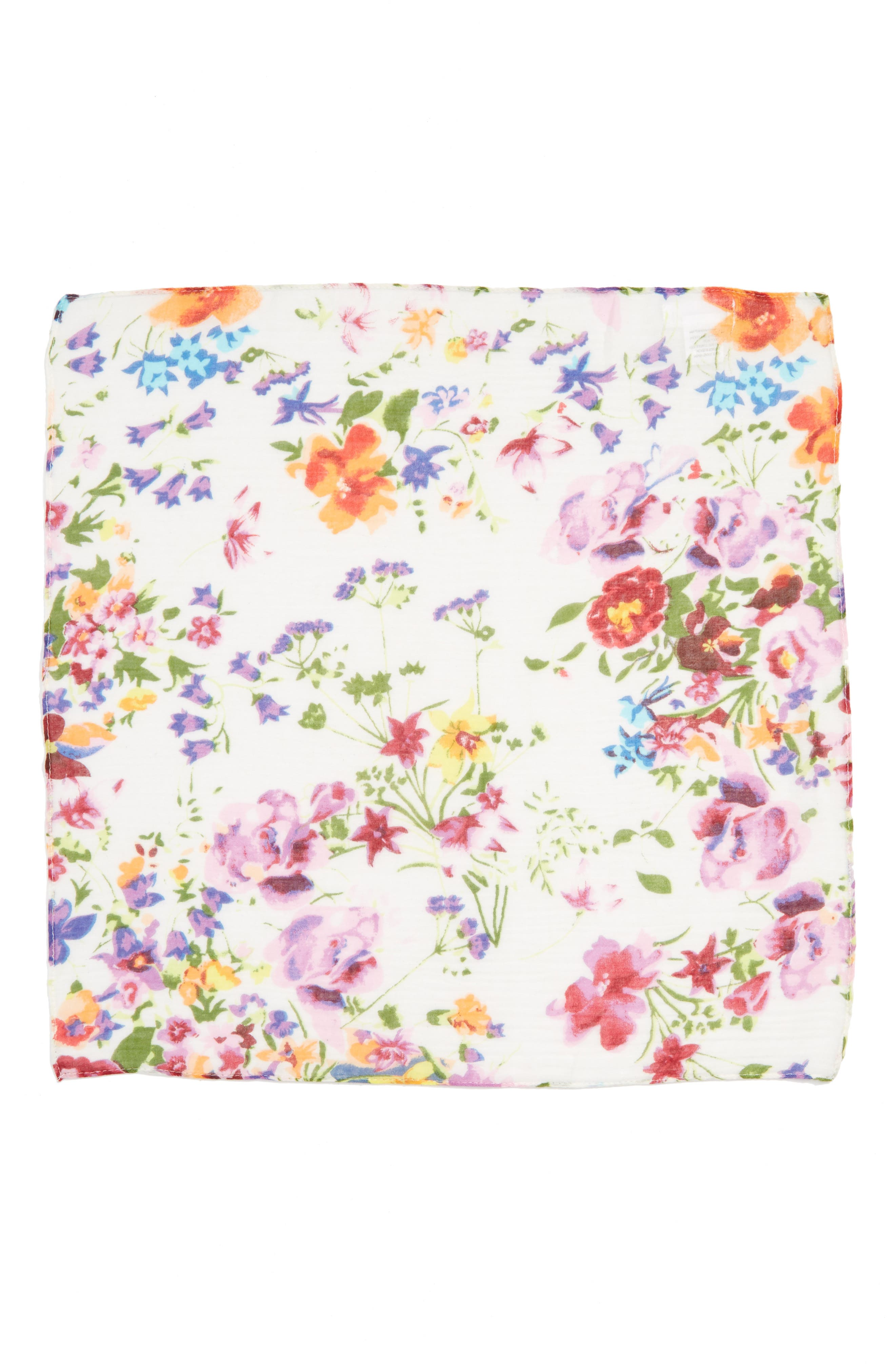 Alternate Image 2  - Sole Society Floral Neck Scarf