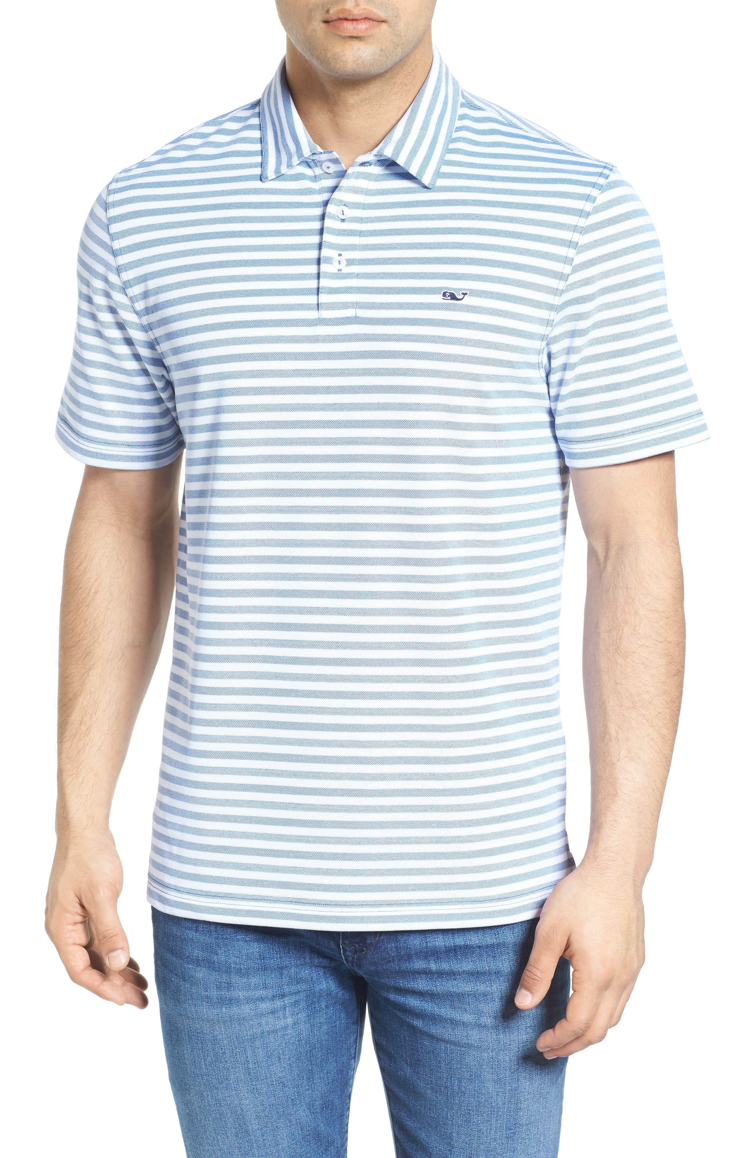 Vineyard Vines Stripe Polo