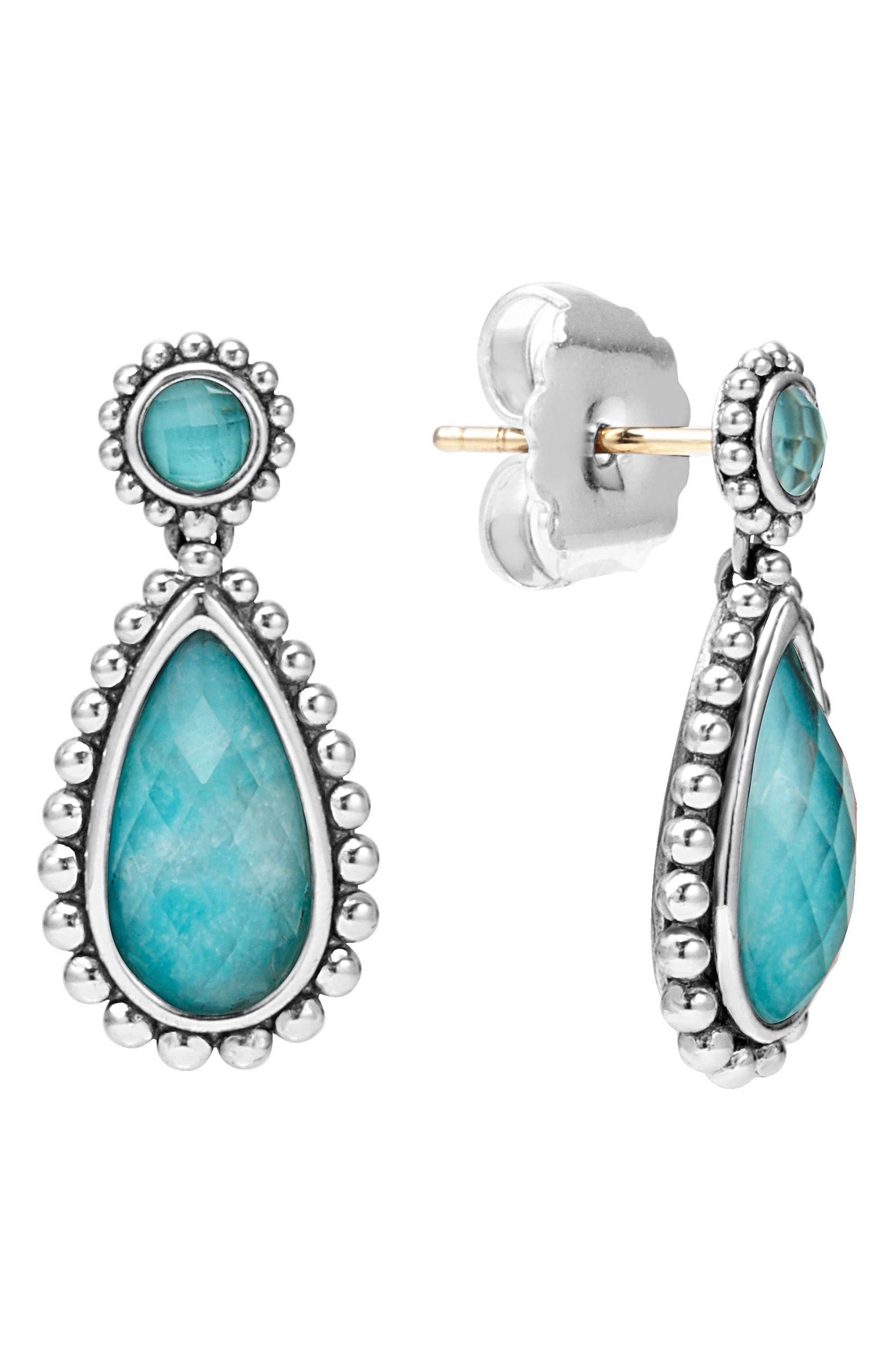 LAGOS 'Maya' Teardrop Earrings