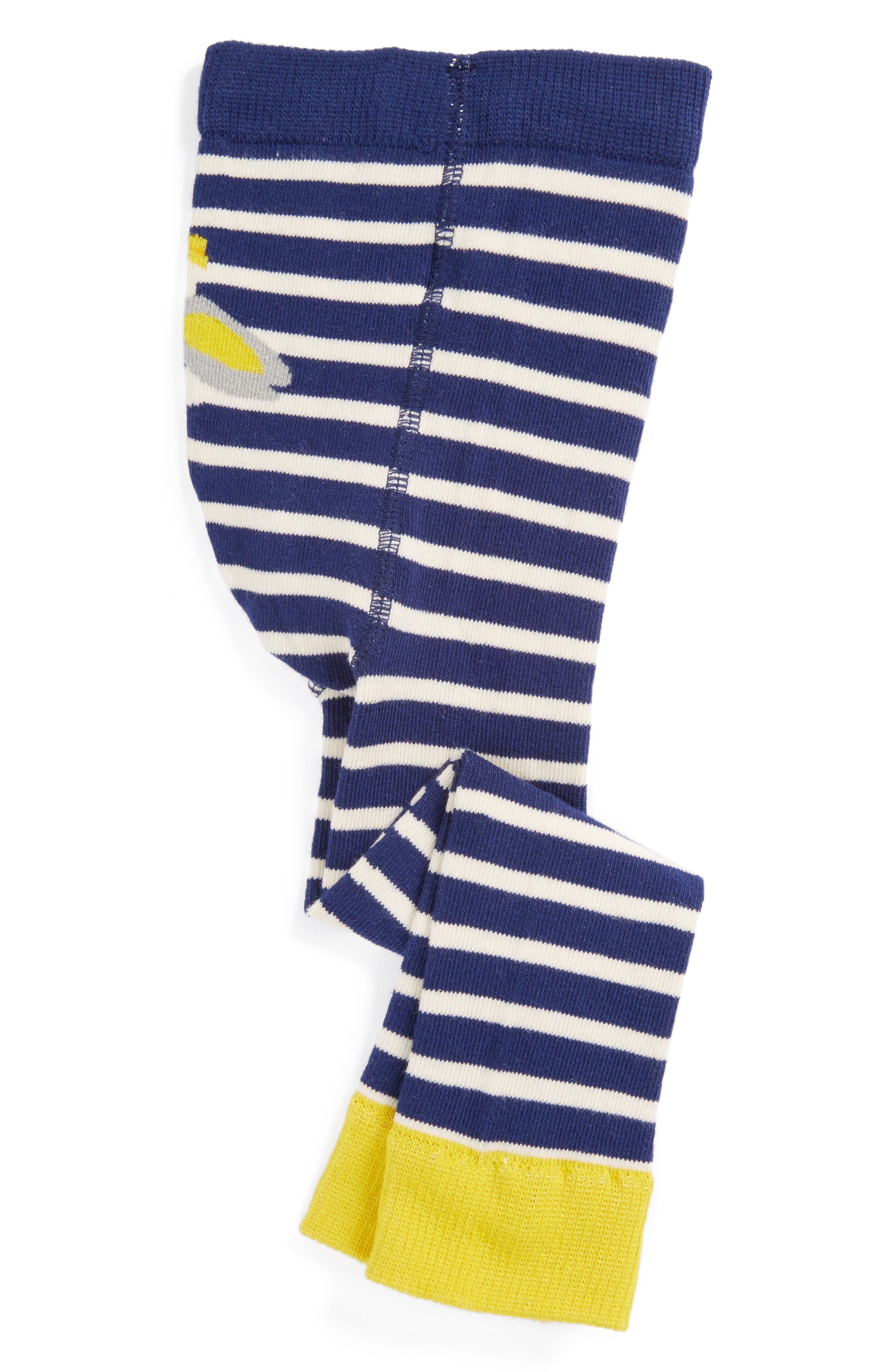 Mini Boden Intarsia Knit Leggings (Baby & Toddler)