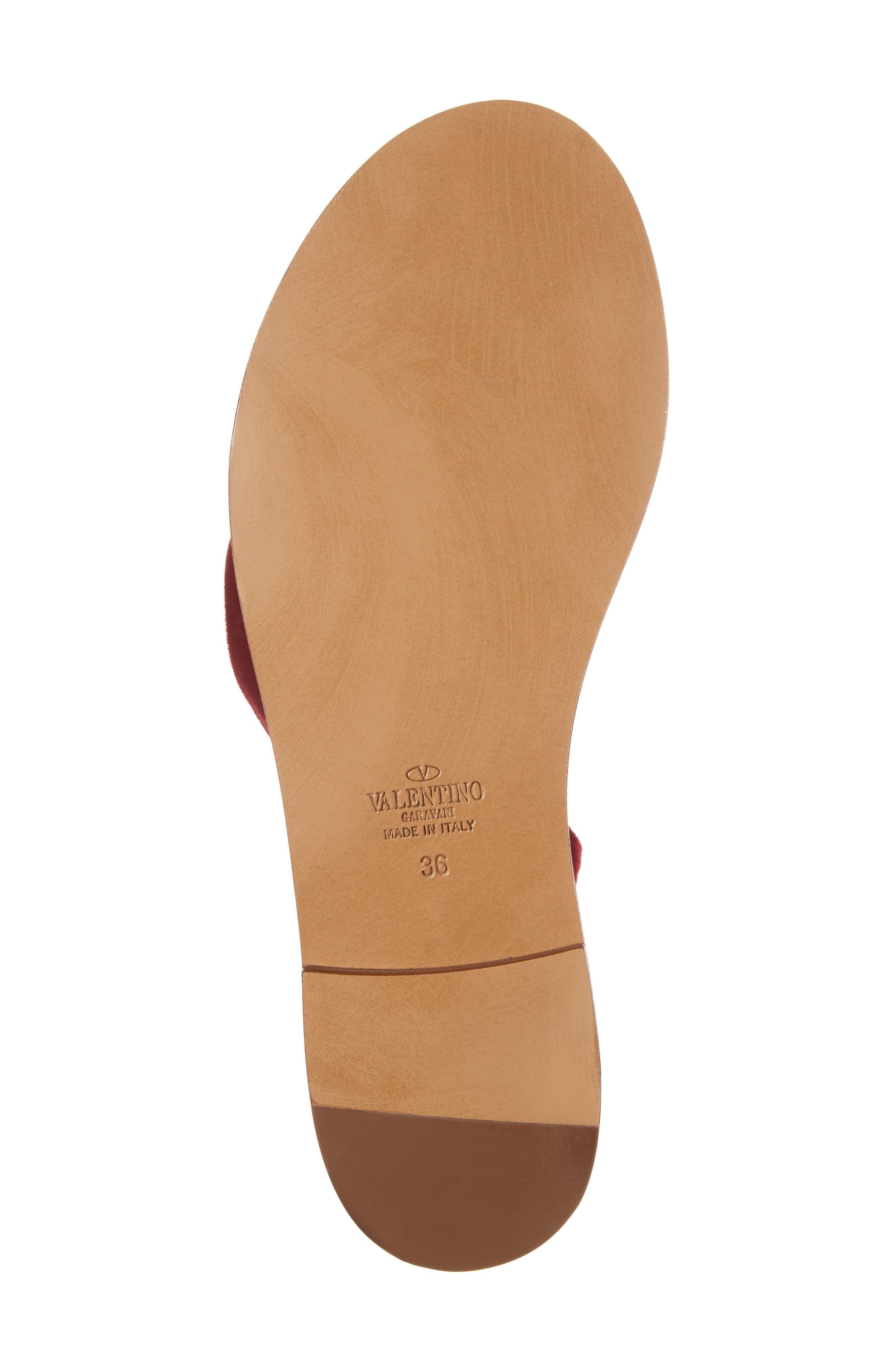 Alternate Image 6  - Valentino Lace-up Sandal (Women)
