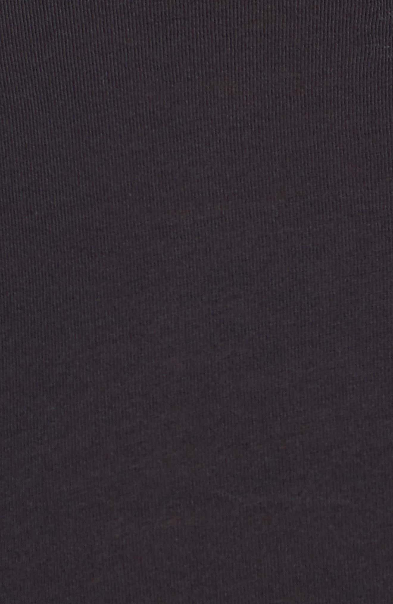 Alternate Image 5  - 2(x)ist Slim Fit Pima Cotton Deep V-Neck T-Shirt