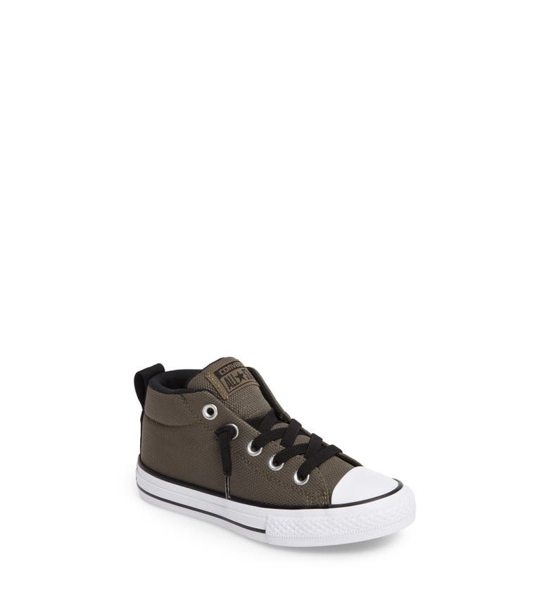 Main Image - Converse Chuck Taylor® All Star® Basket Weave Street Mid Sneaker (Toddler, Little Kid & Big Kid)