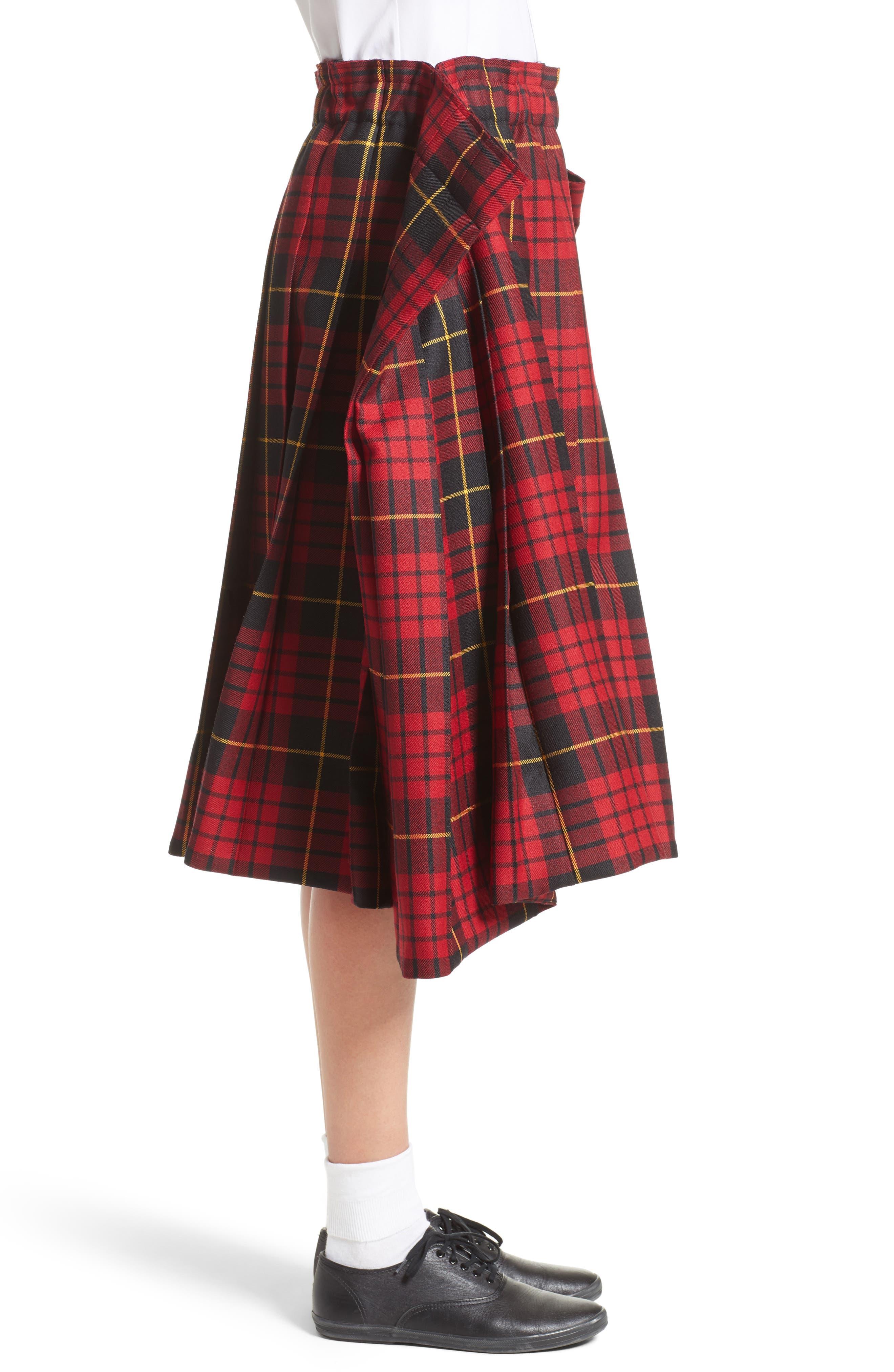 Alternate Image 4  - Comme des Garçons Tartan Check Wool Skirt
