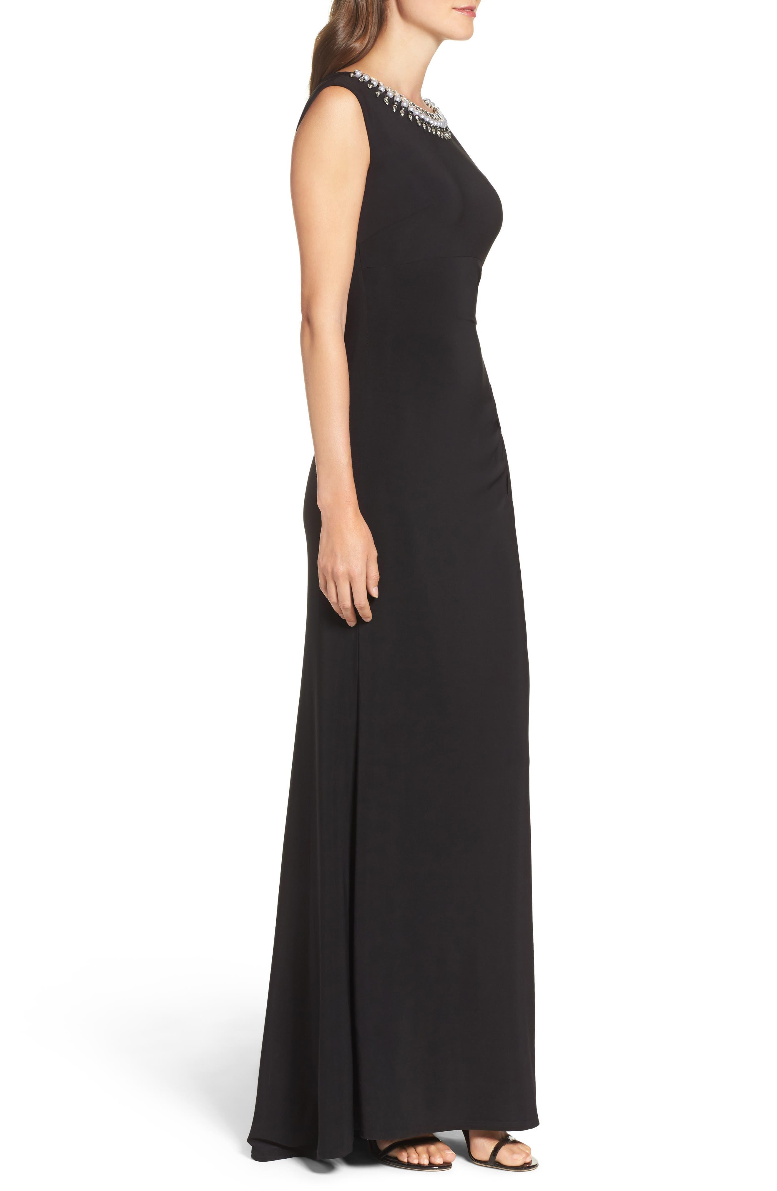Alternate Image 3  - Vince Camuto Embellished Gown