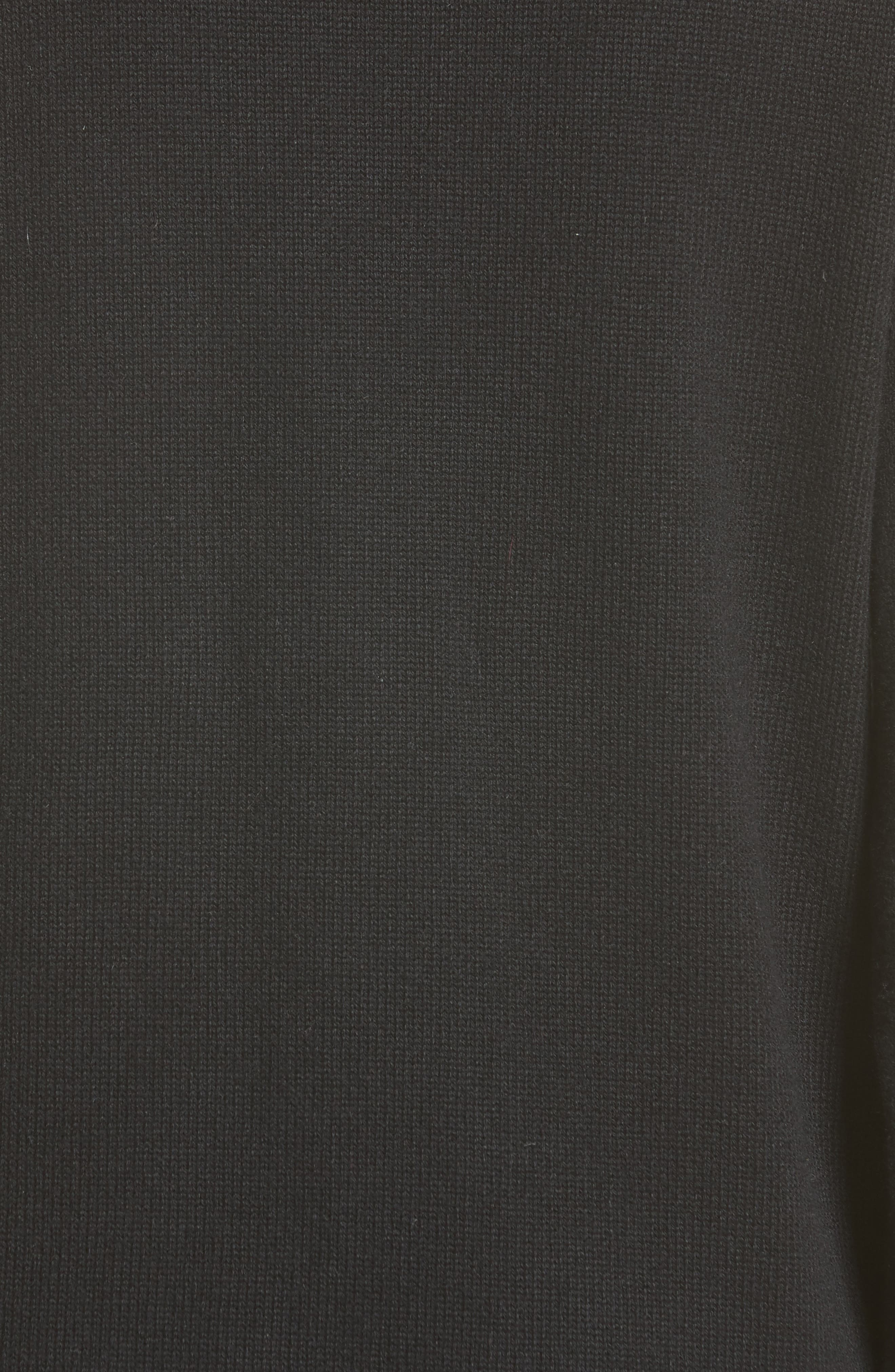 Alternate Image 3  - Michael Kors Zip Detail Cashmere & Cotton Sweater