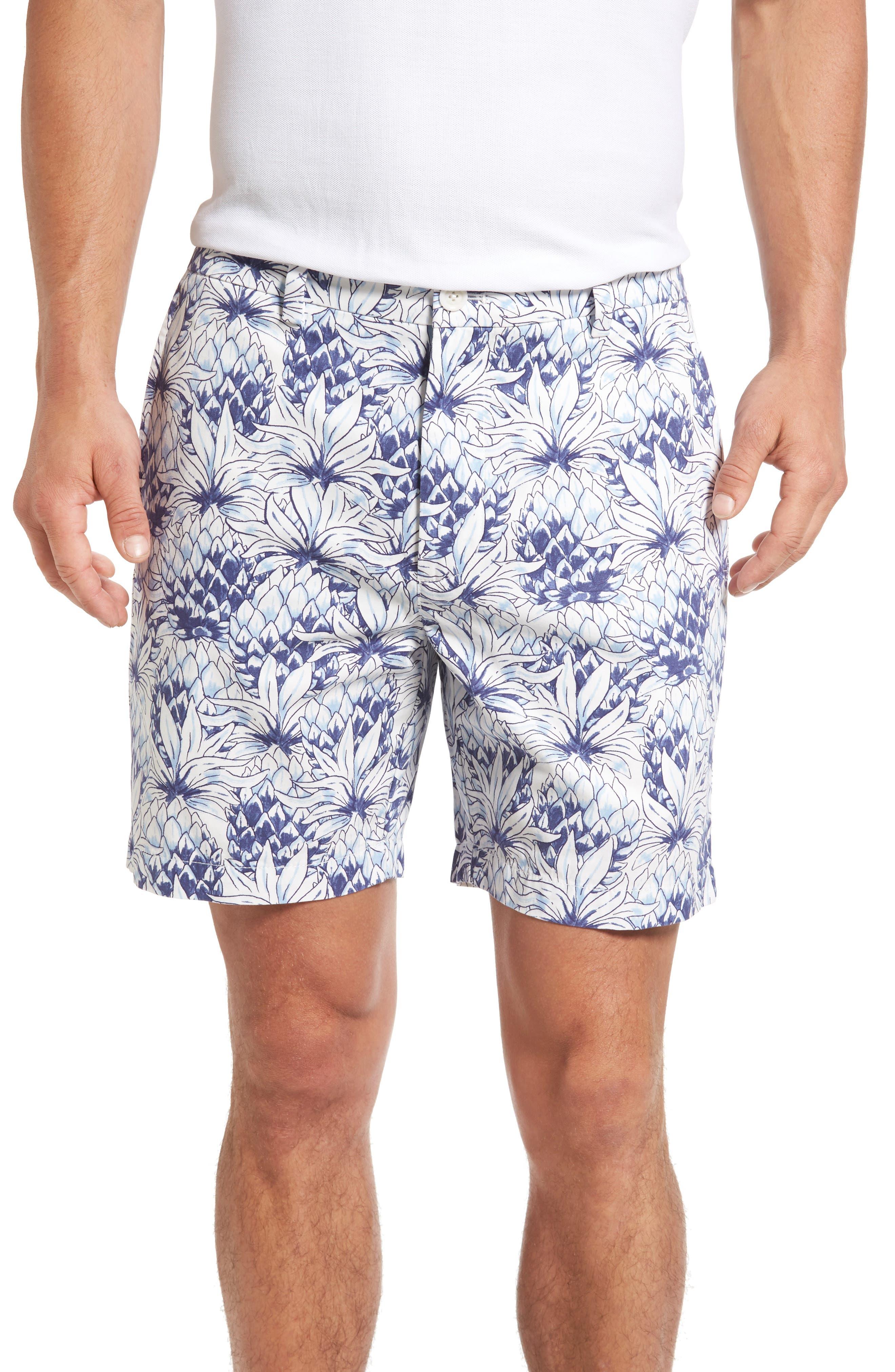 Vineyard Vines Breaker Pineapple Print Shorts