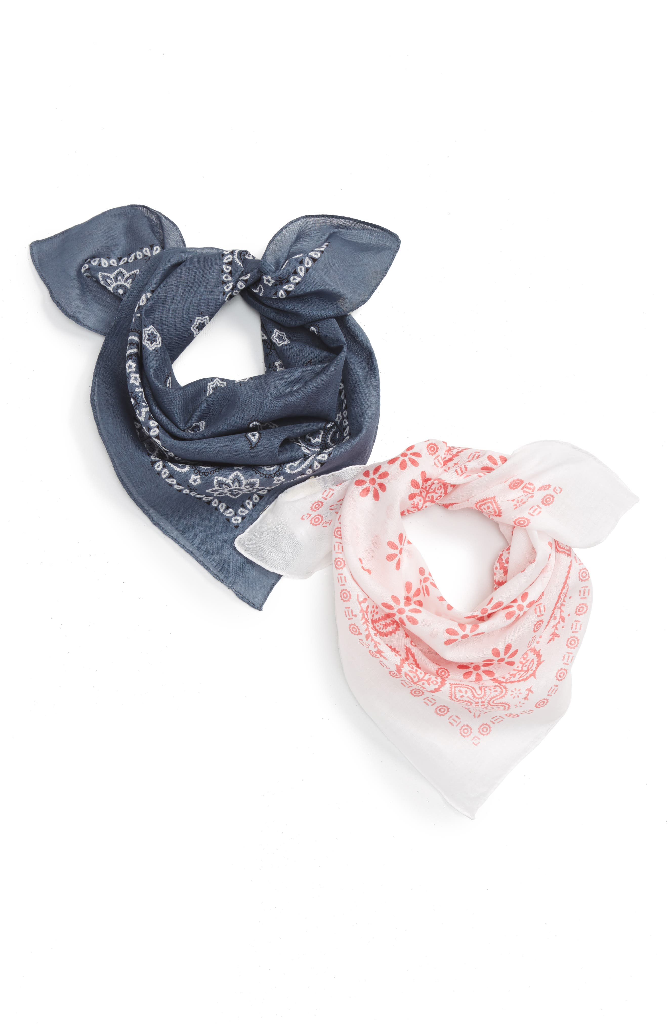 Tucker + Tate Set of 2 Bandanas (Big Girls)