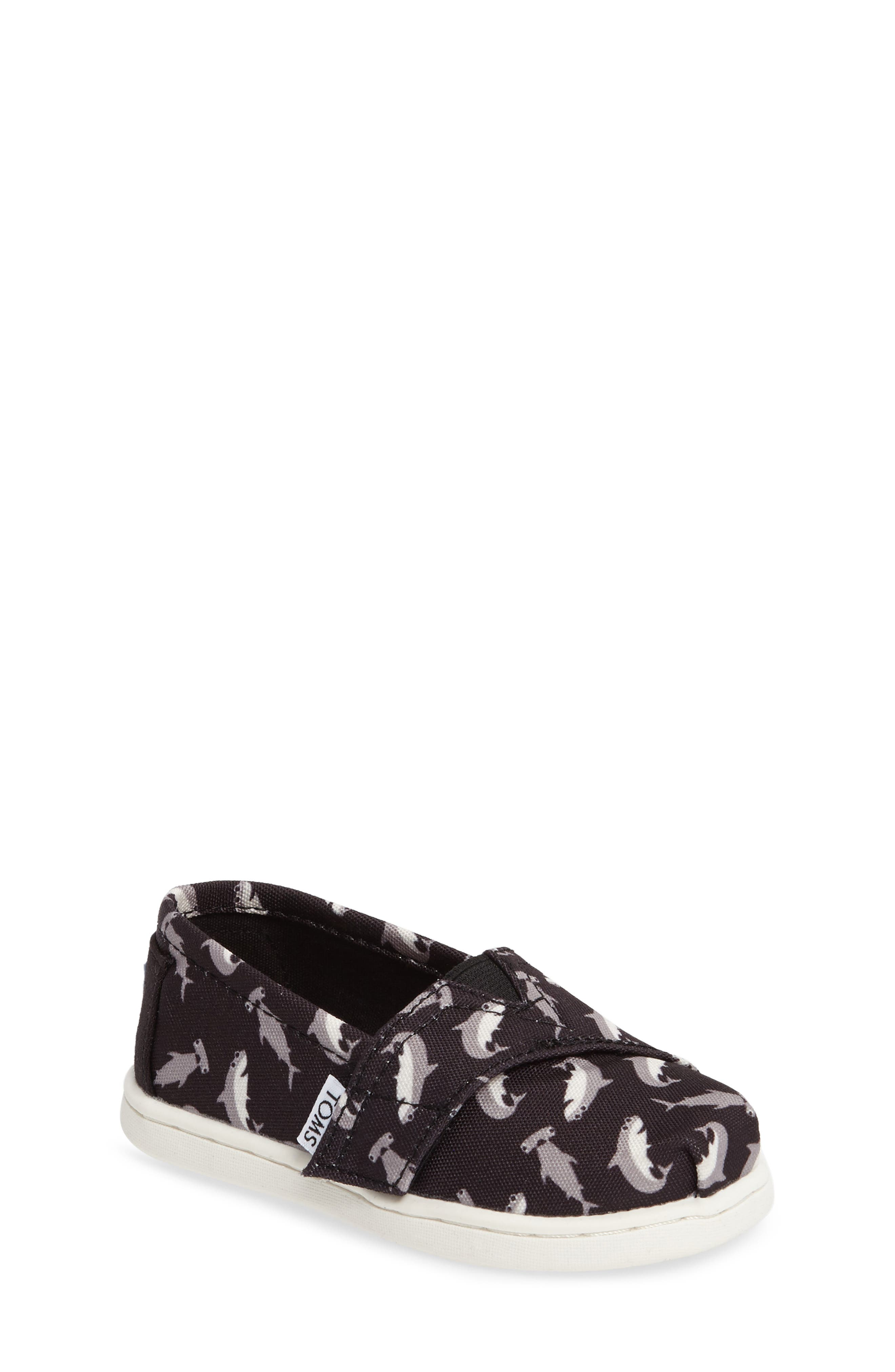 TOMS Classic Tiny Slip-On (Baby, Walker & Toddler)