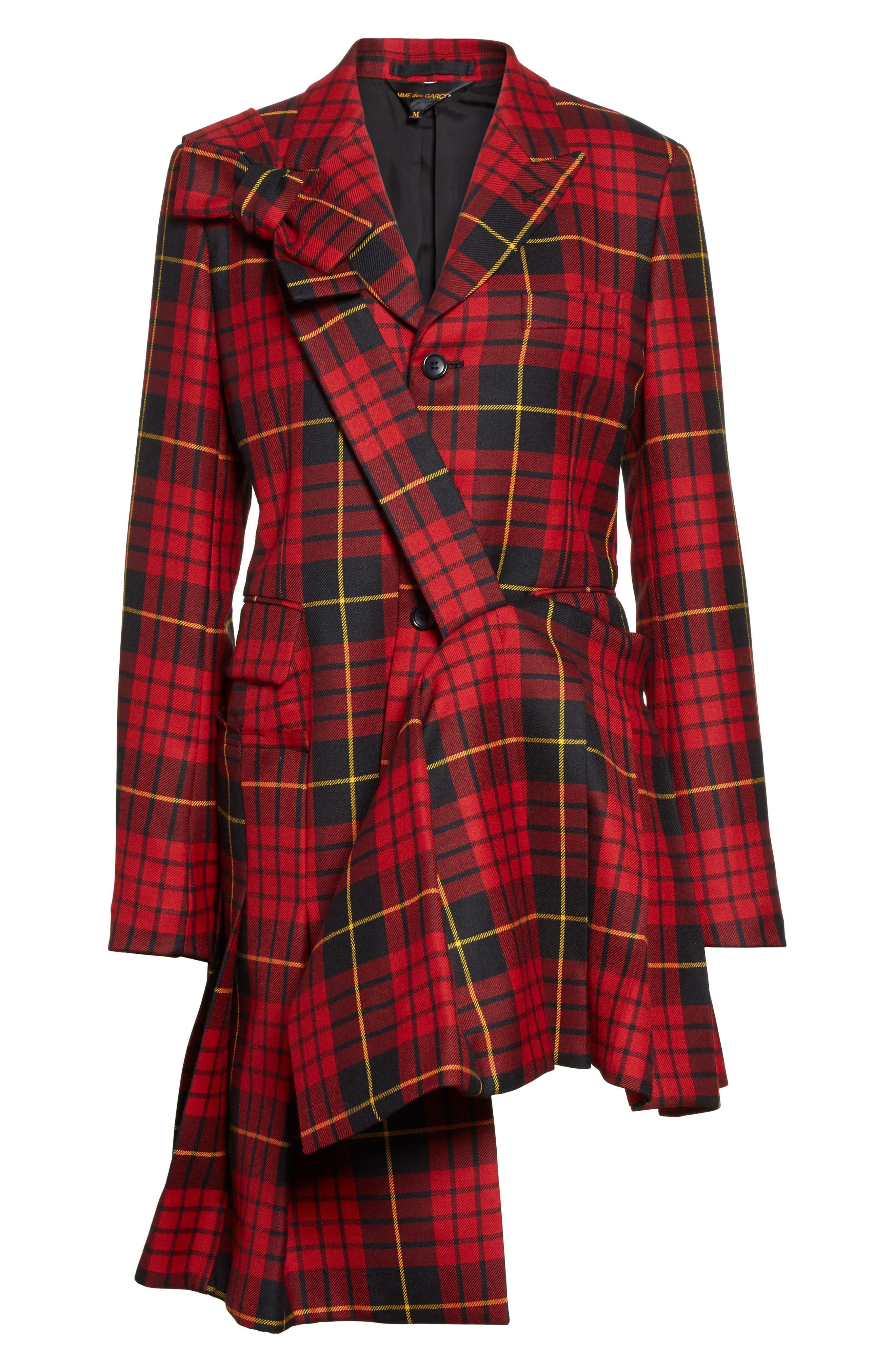 Alternate Image 4  - Comme des Garçons Tartan Plaid Wool Jacket