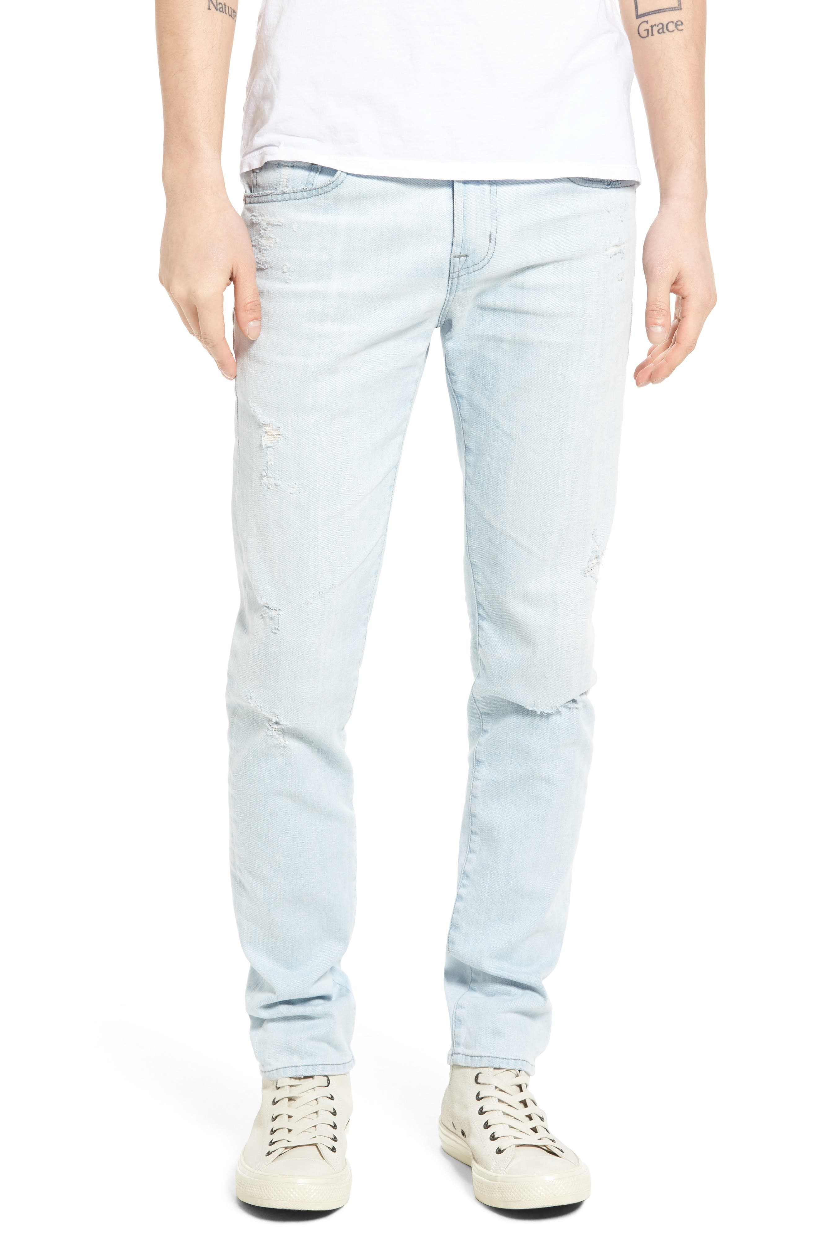 AG Stockton Skinny Fit Jeans (26 Years Marooned)