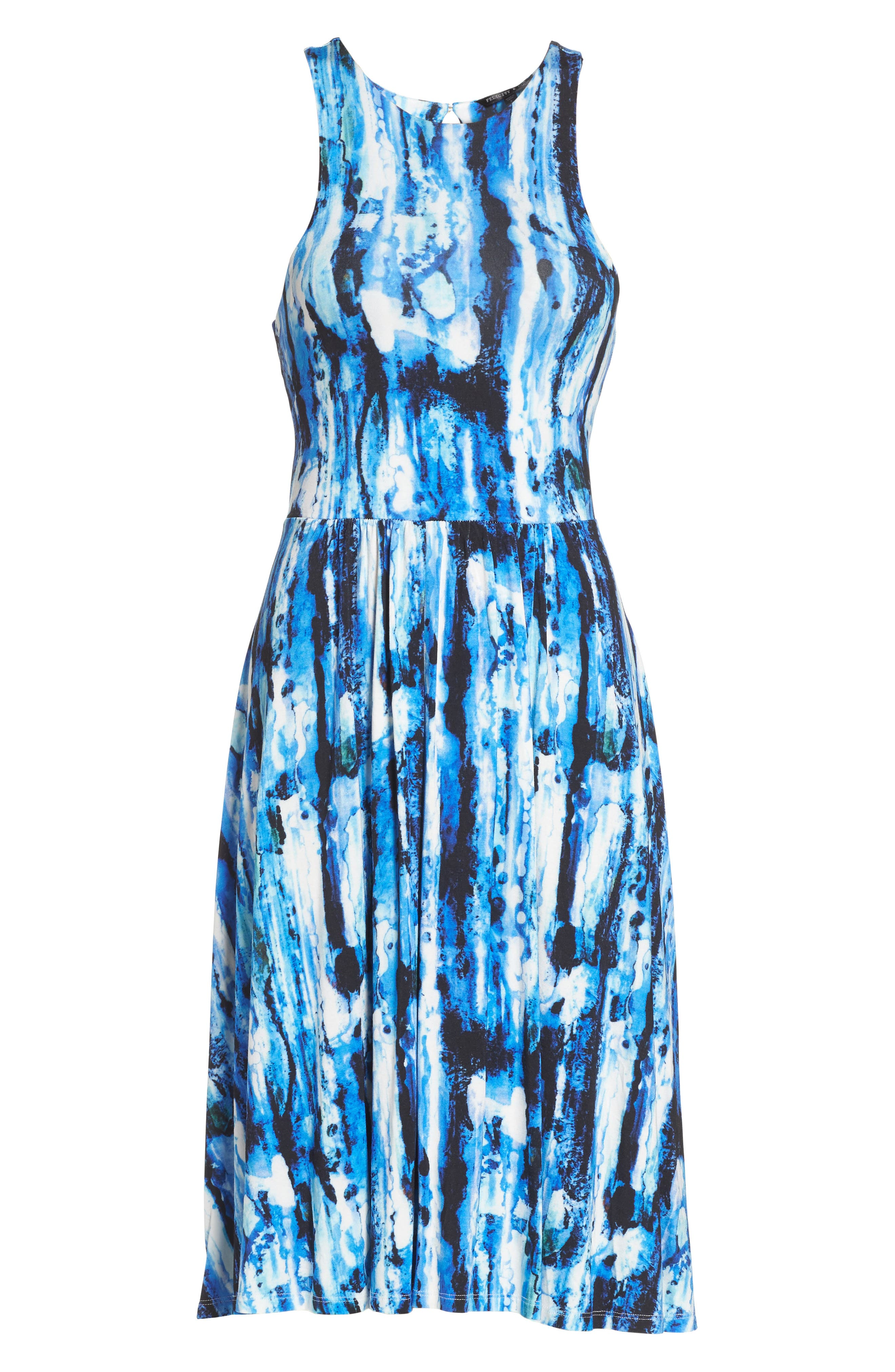 Alternate Image 6  - Felicity & Coco Print Fit & Flare Dress (Regular & Petite) (Nordstrom Exclusive)