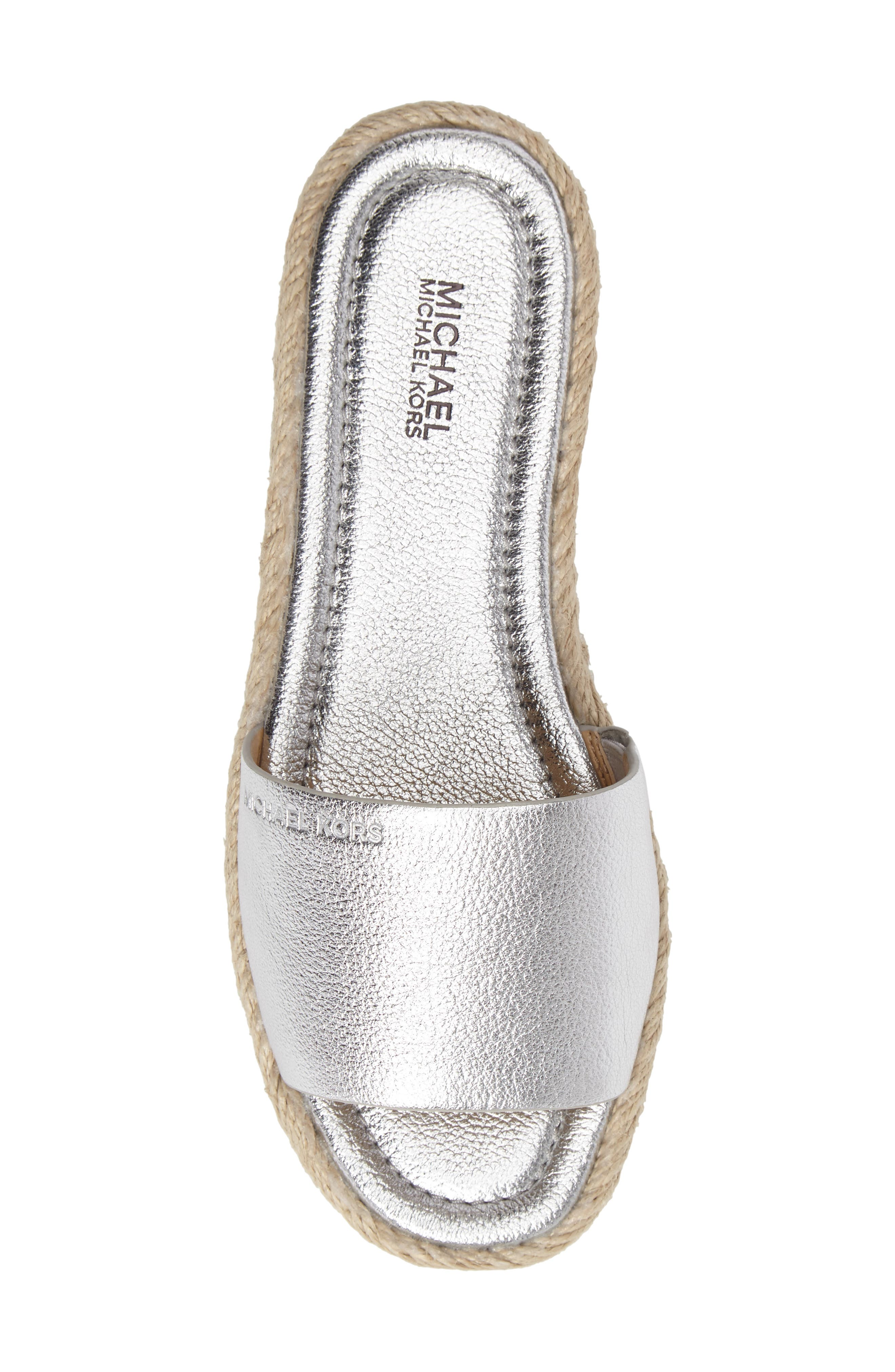 Alternate Image 5  - MICHAEL Michael Kors Dempsey Slide Sandal (Women)
