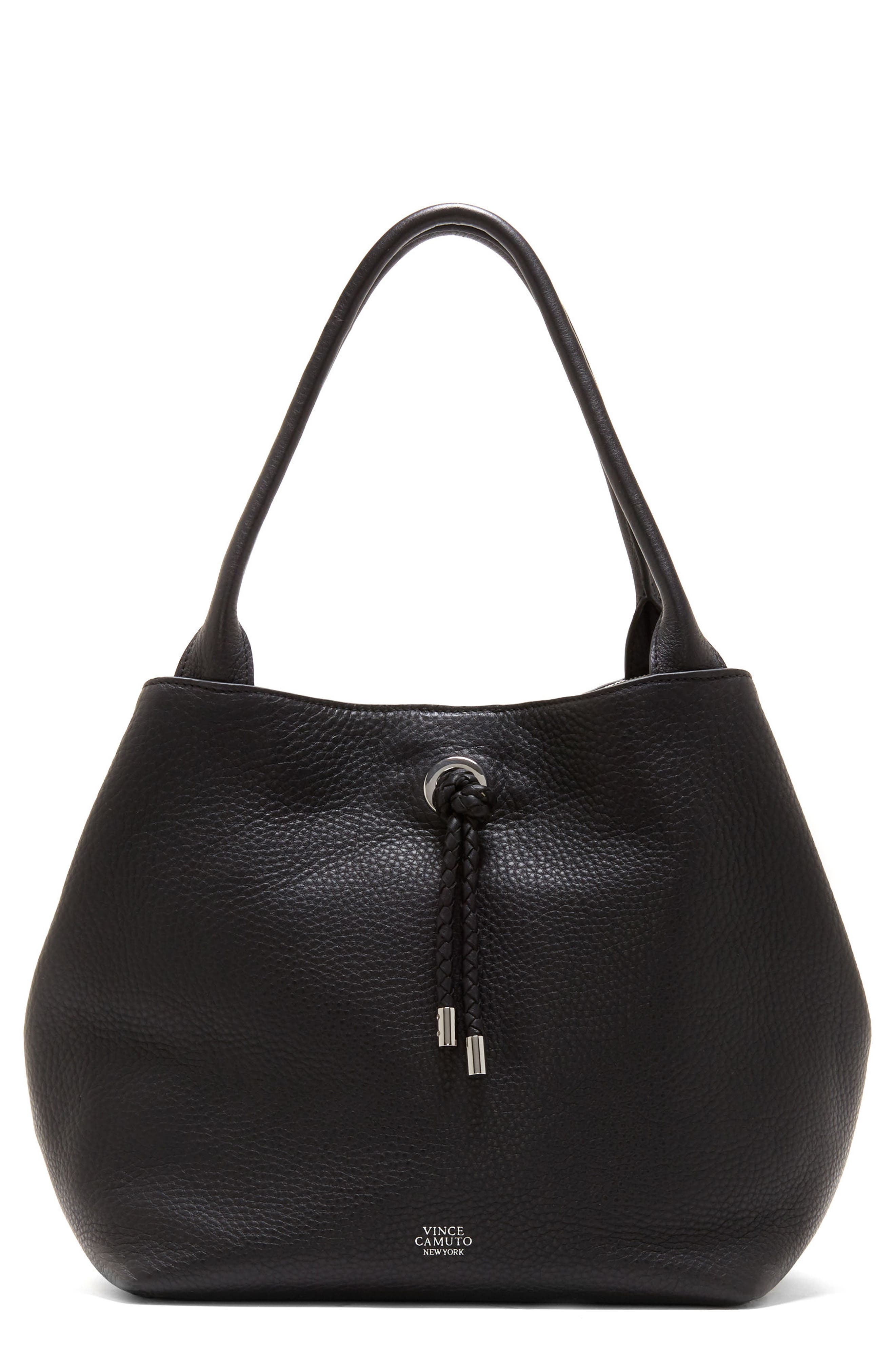 Vince Camuto Small Aviva Leather Tote