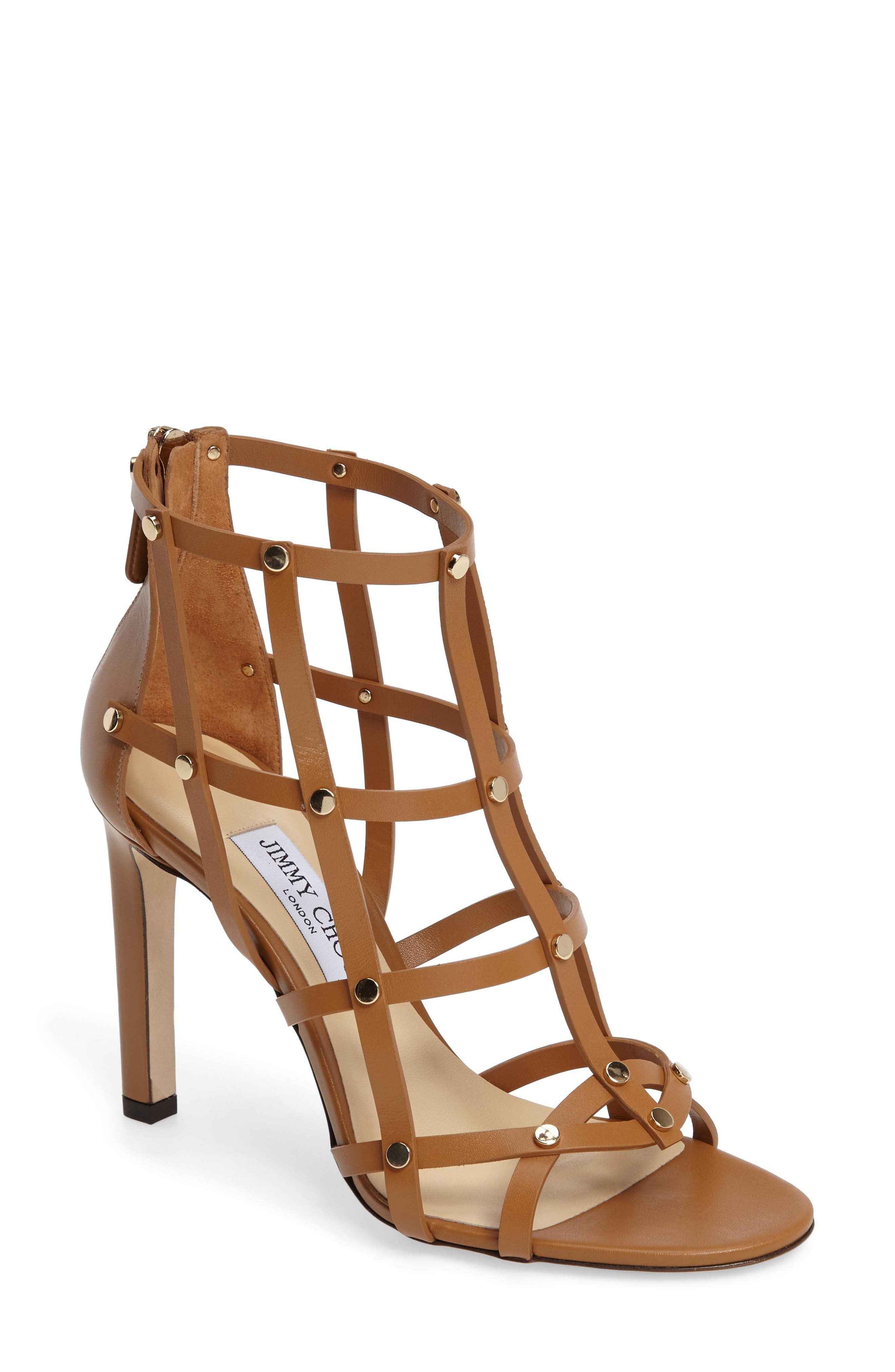Alternate Image 1 Selected - Jimmy Choo Tina Cage Sandal (Women)