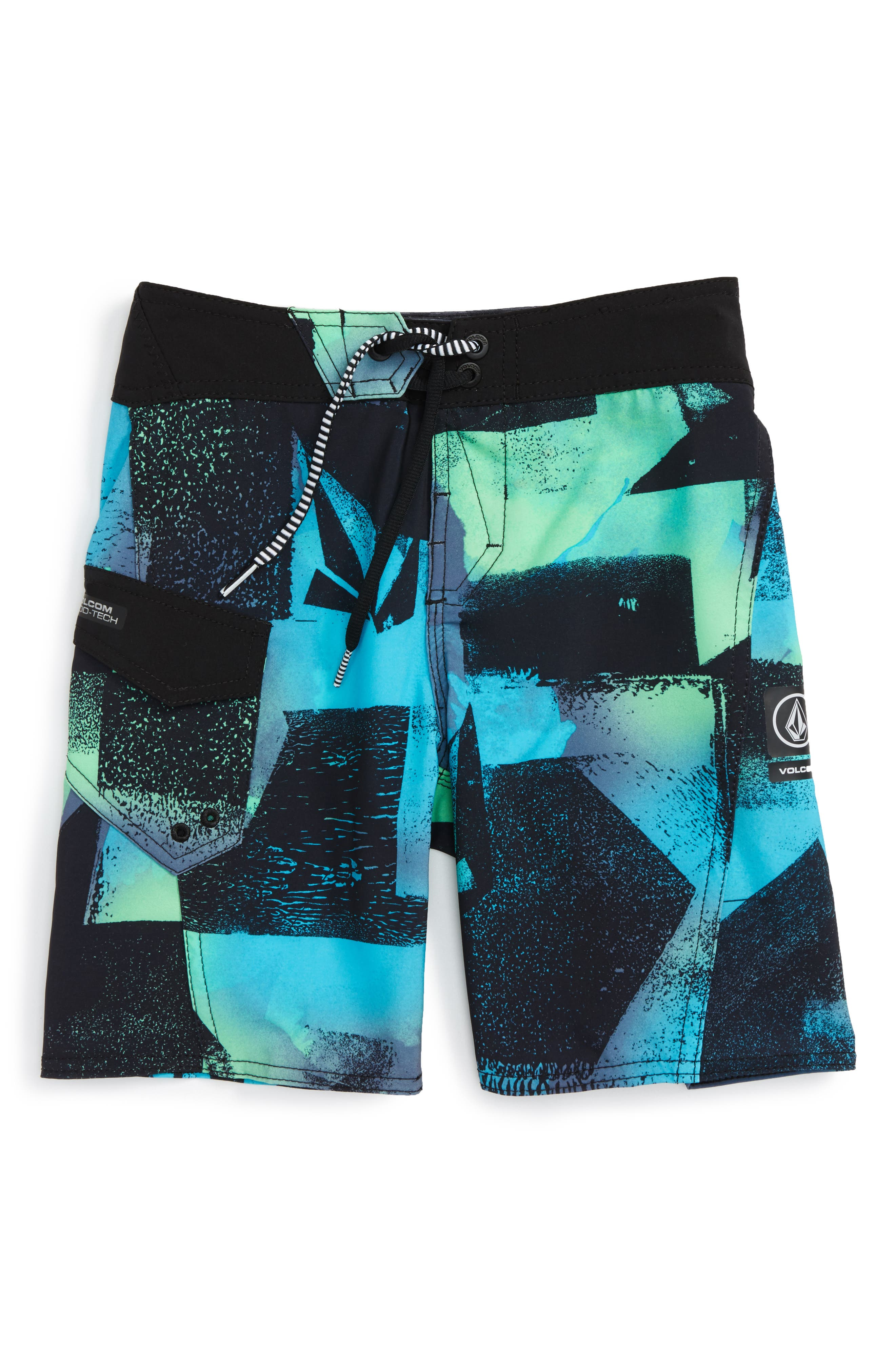 Volcom Costa Paste Up Mod Board Shorts (Toddler Boys & Little Boys)