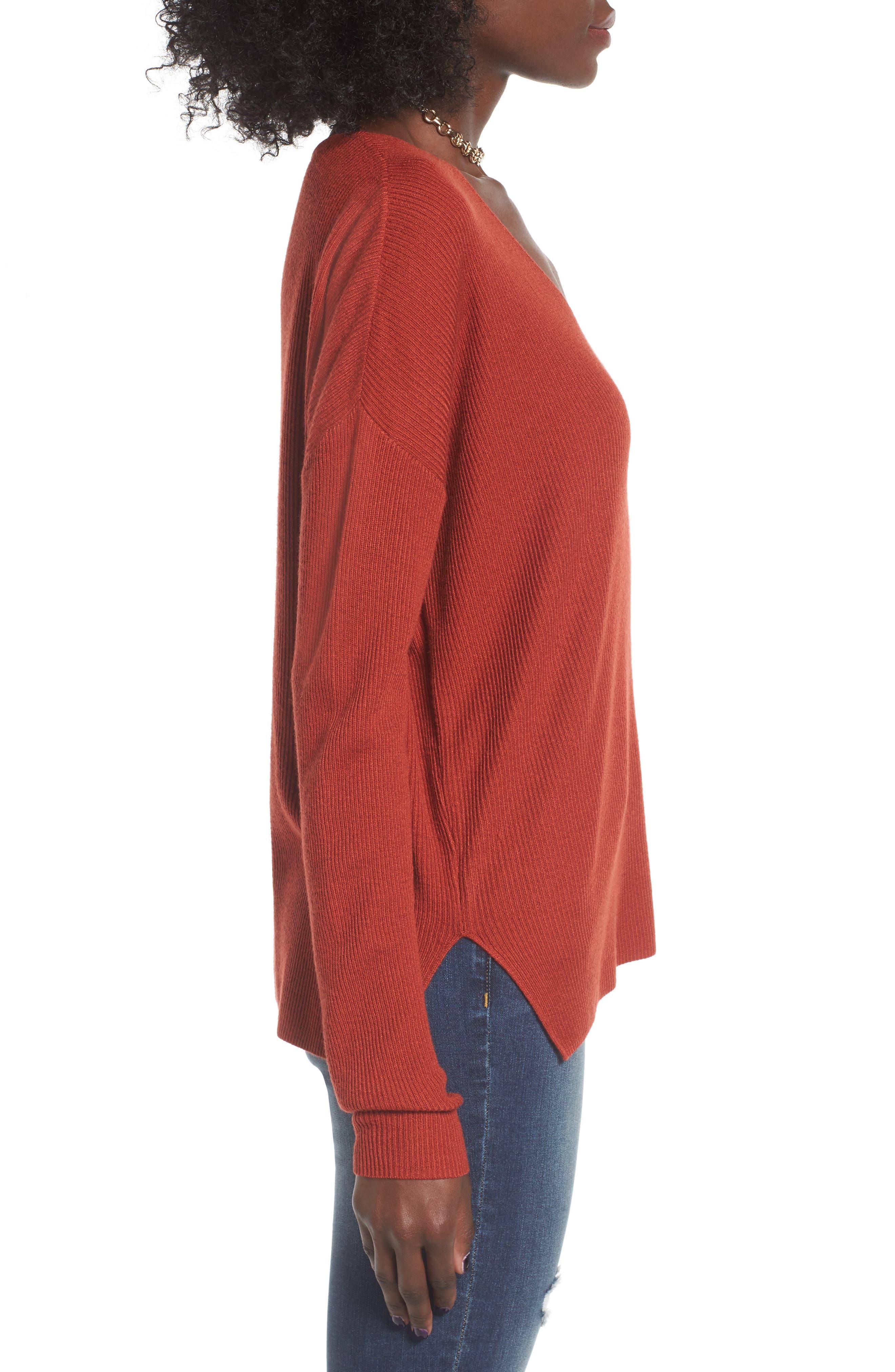 Alternate Image 3  - BP. V-Neck Pullover