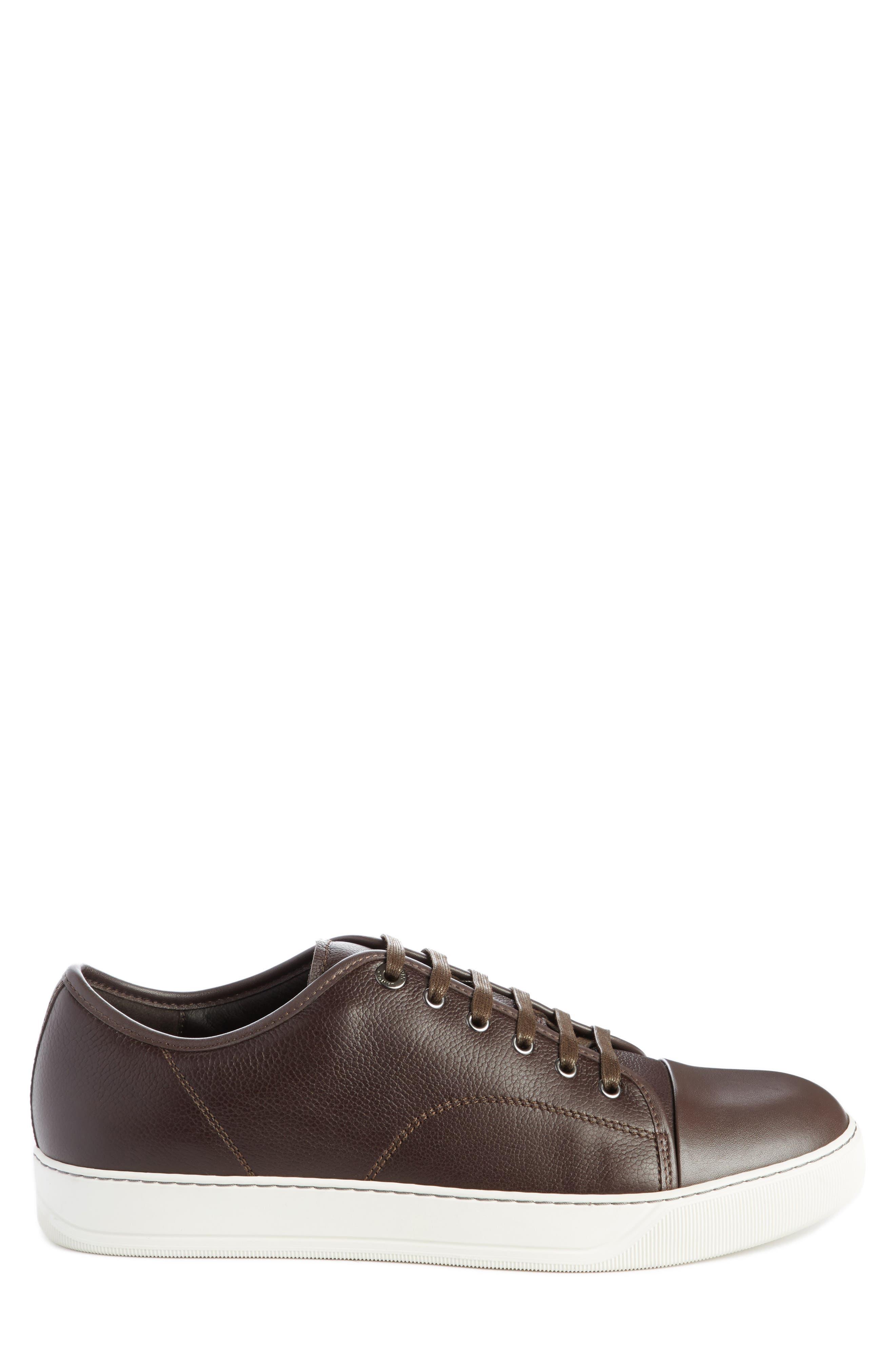 Alternate Image 3  - Lanvin Shiny Cap Toe Sneaker (Men)