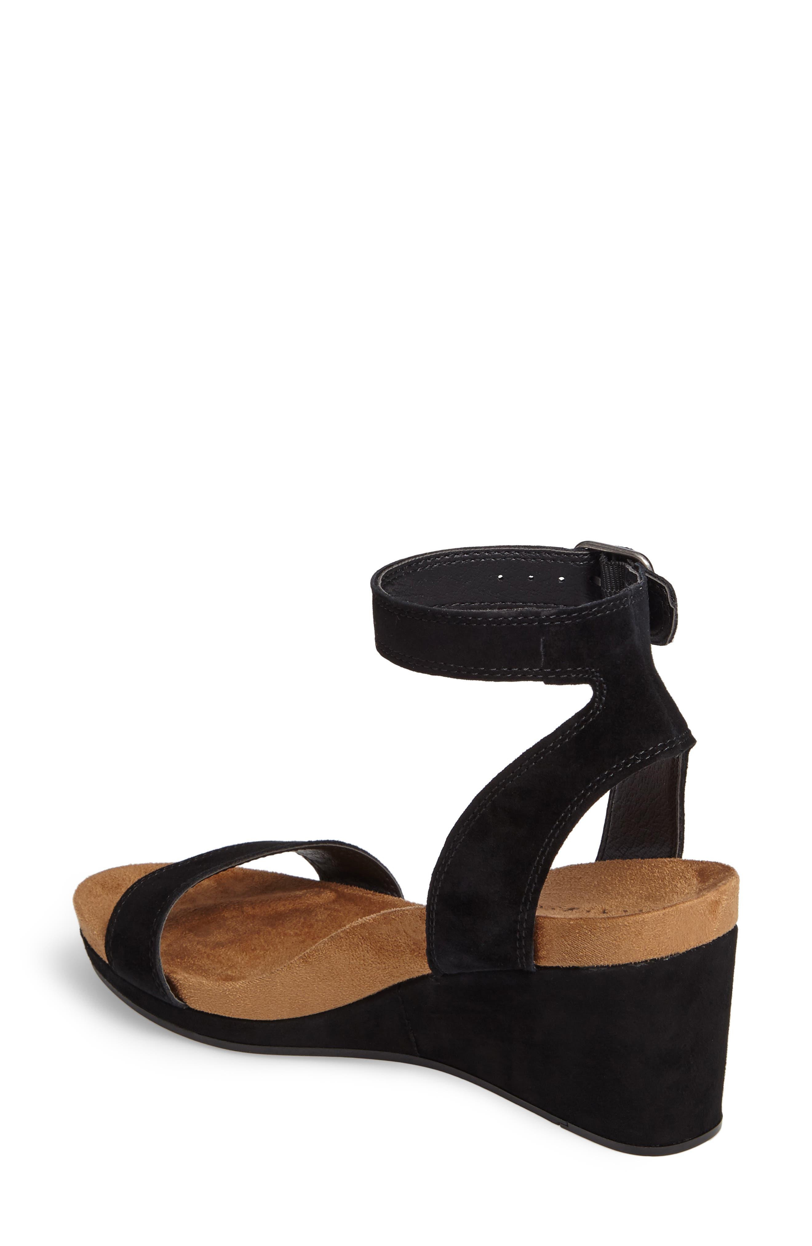 Alternate Image 2  - Lucky Brand Karston Wedge Sandal (Women)