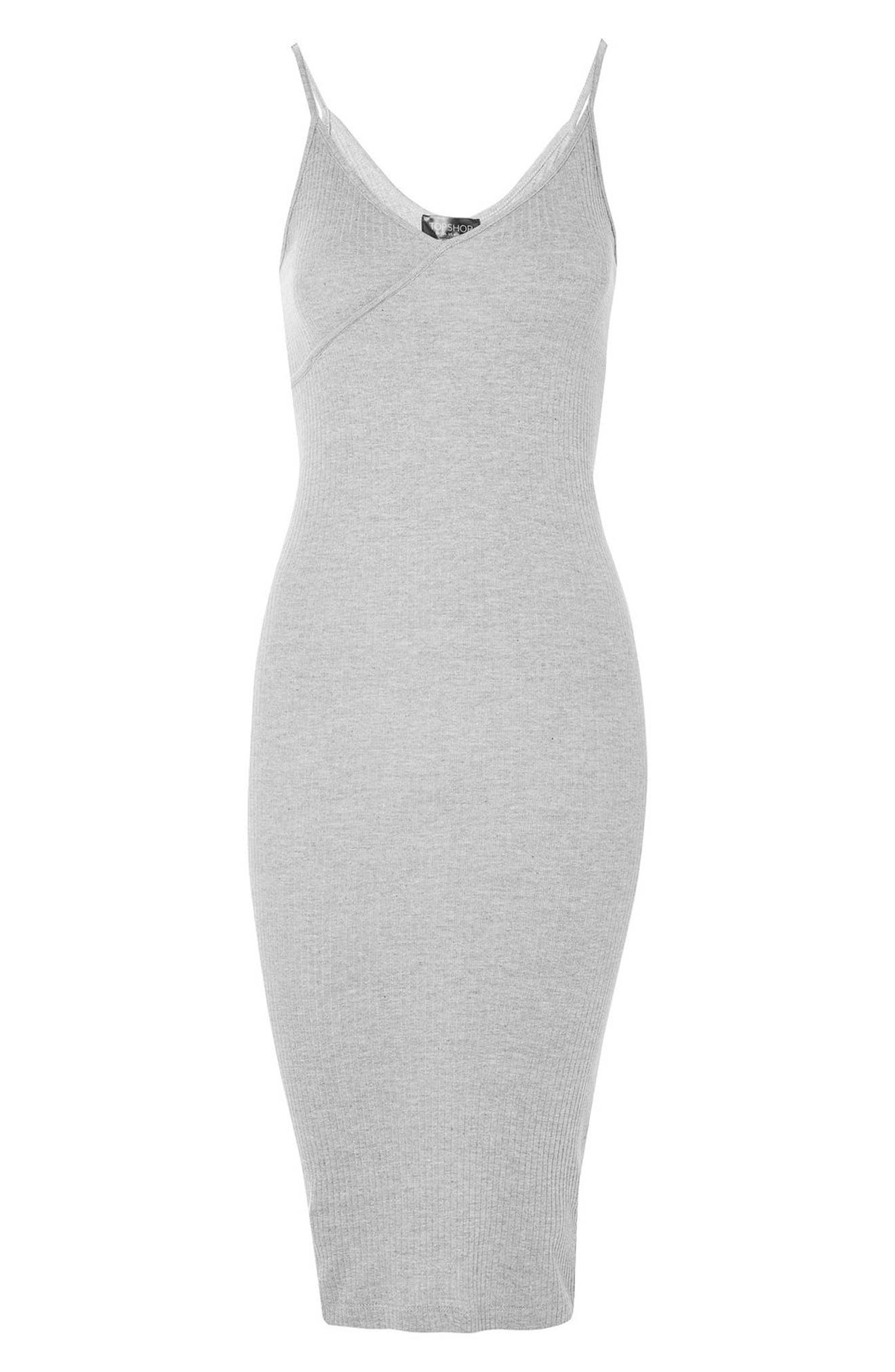 Alternate Image 3  - Topshop Kaia Body-Con Midi Dress