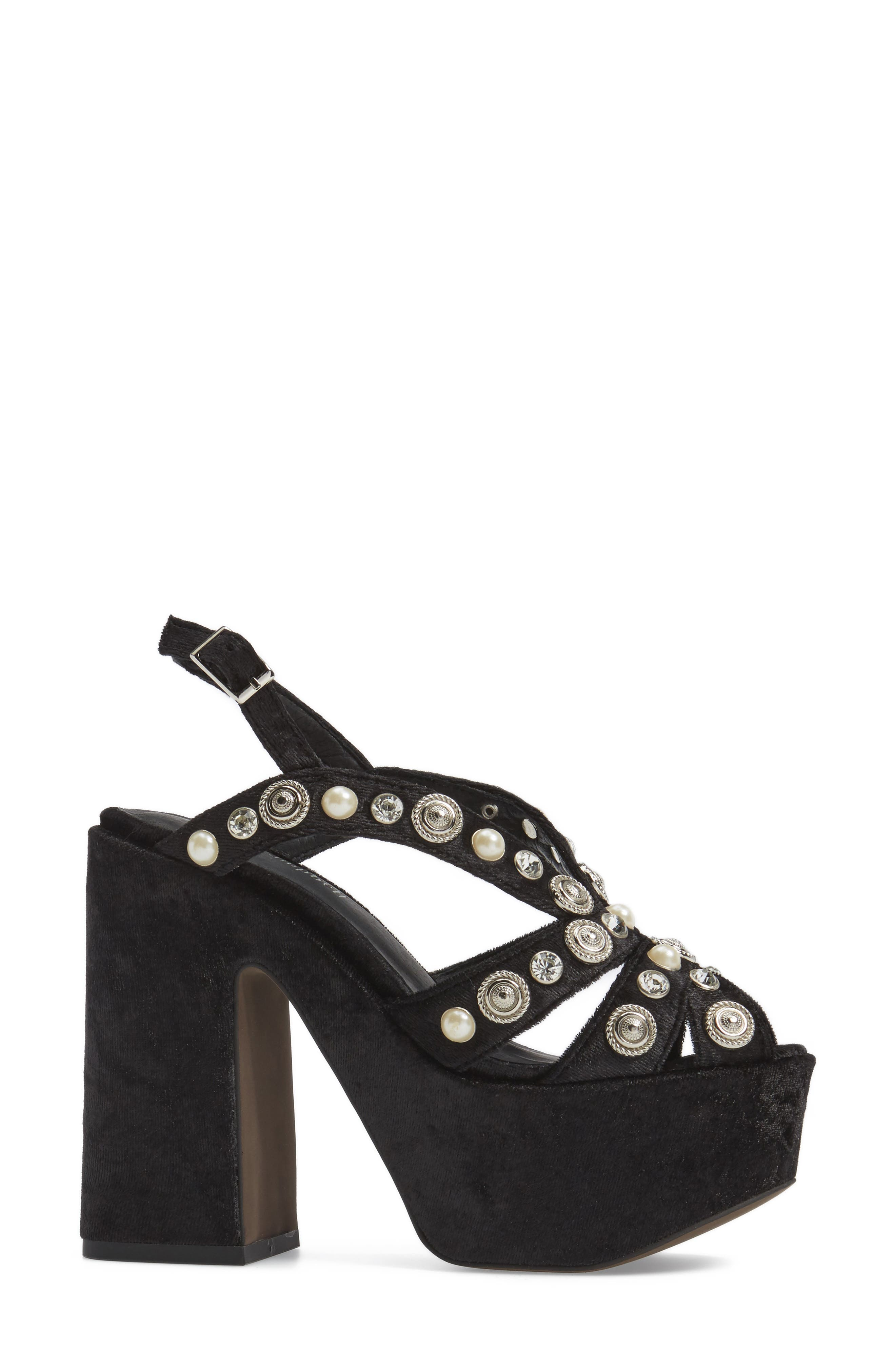 Alternate Image 3  - Jeffrey Campbell Briston Embellished Platform Sandal (Women)
