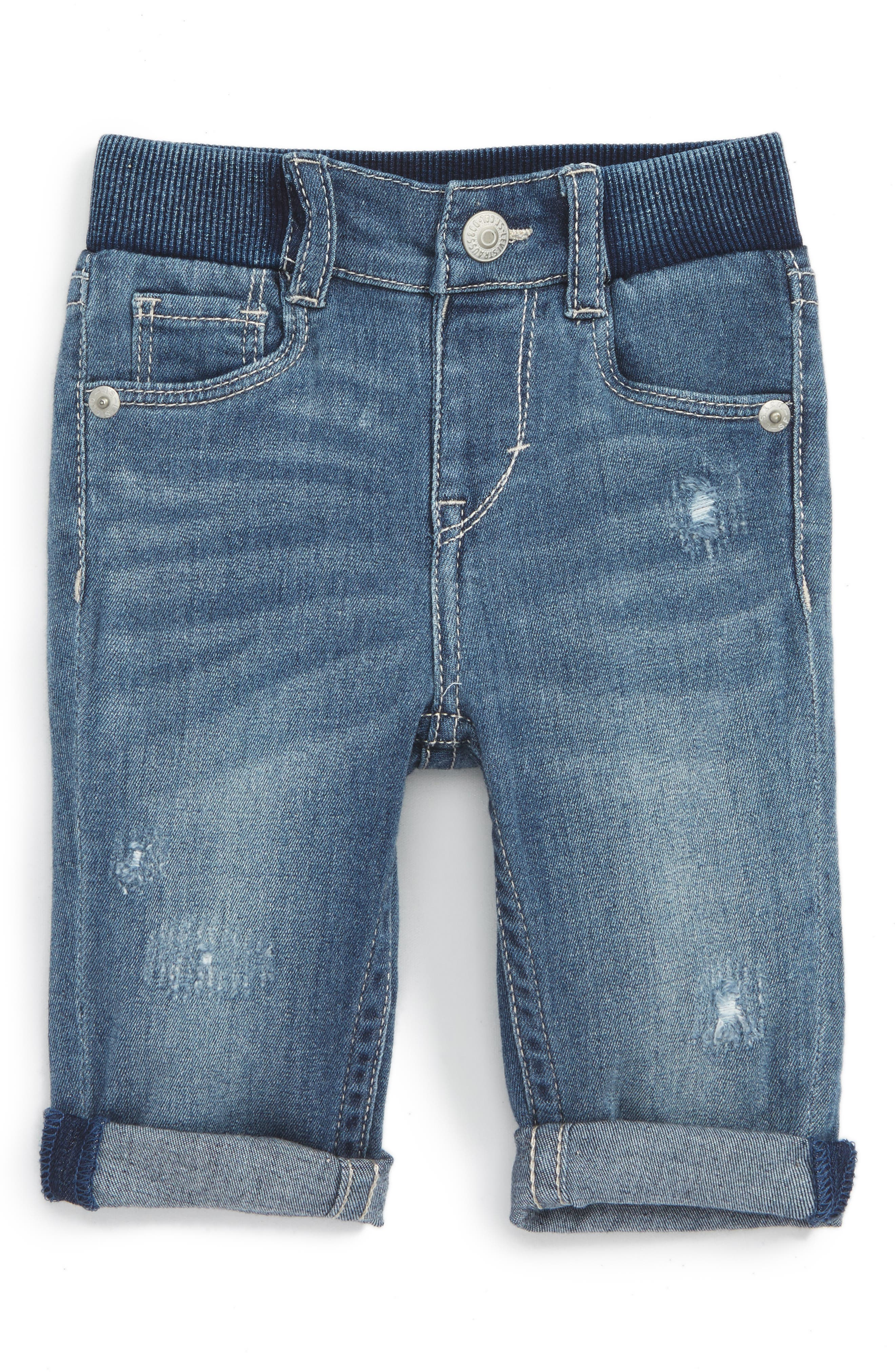 LEVI'S® Rolled Cuff Skinny Jeans (Baby Girls)