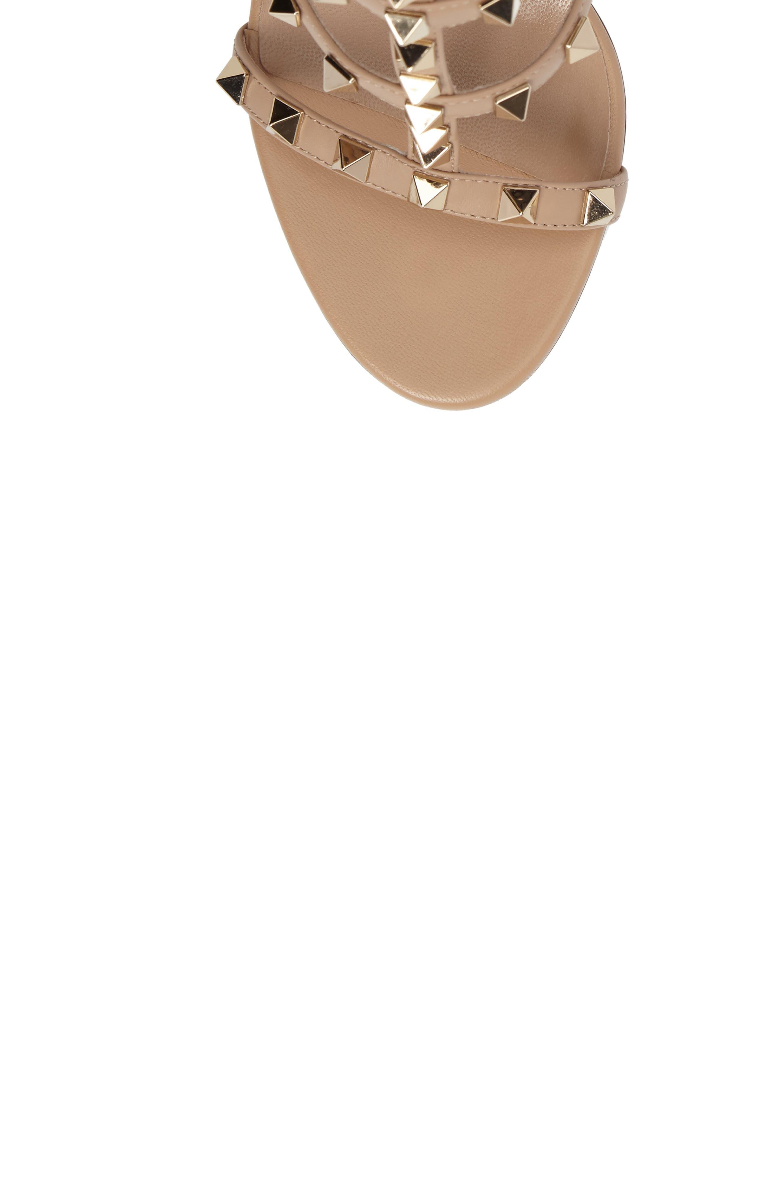 Alternate Image 5  - Valentino 'Rockstud' Ankle Strap Sandal (Women)
