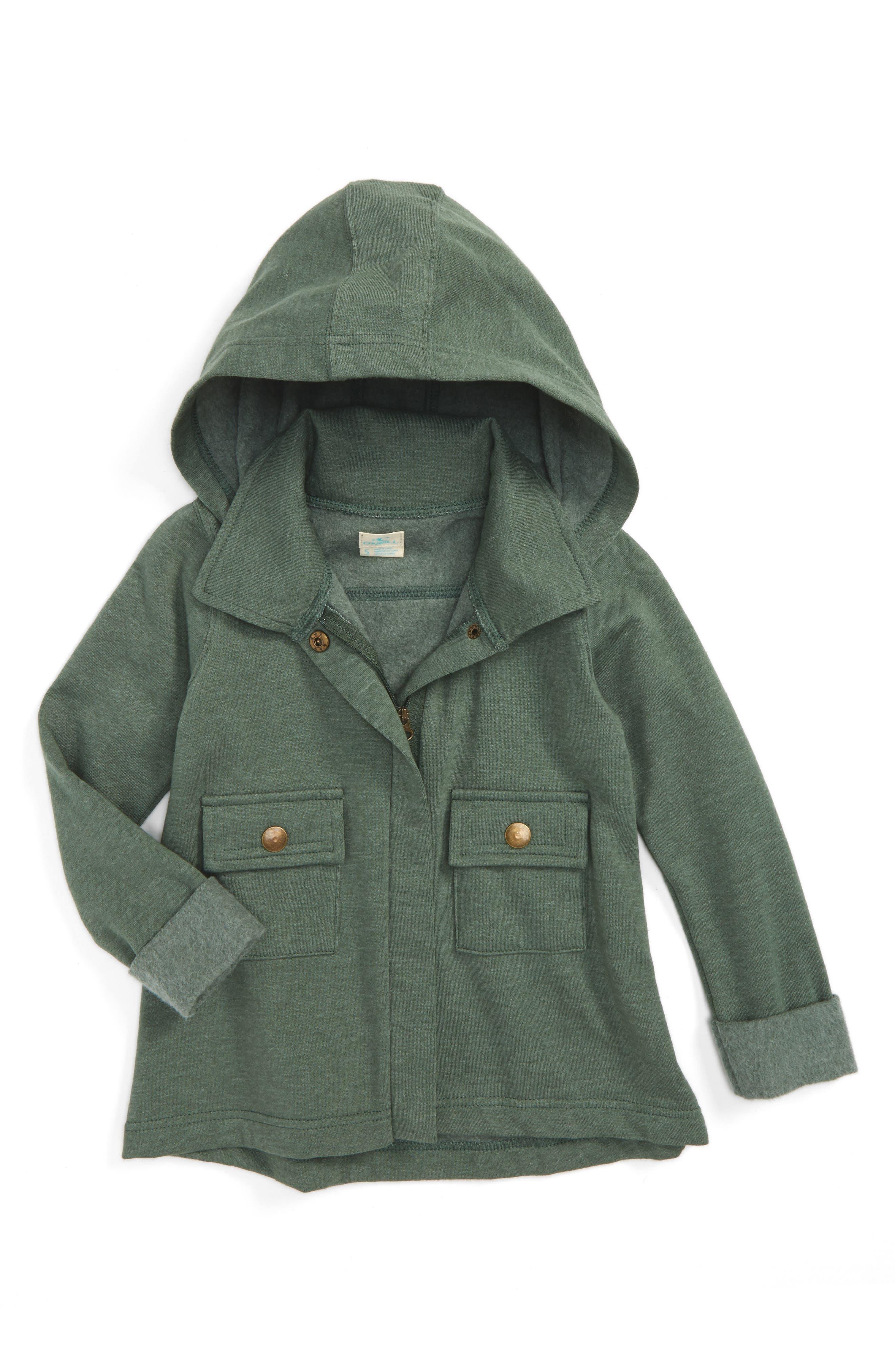 O'Neill Bobby Hooded Jacket (Toddler Girls & Little Girls)