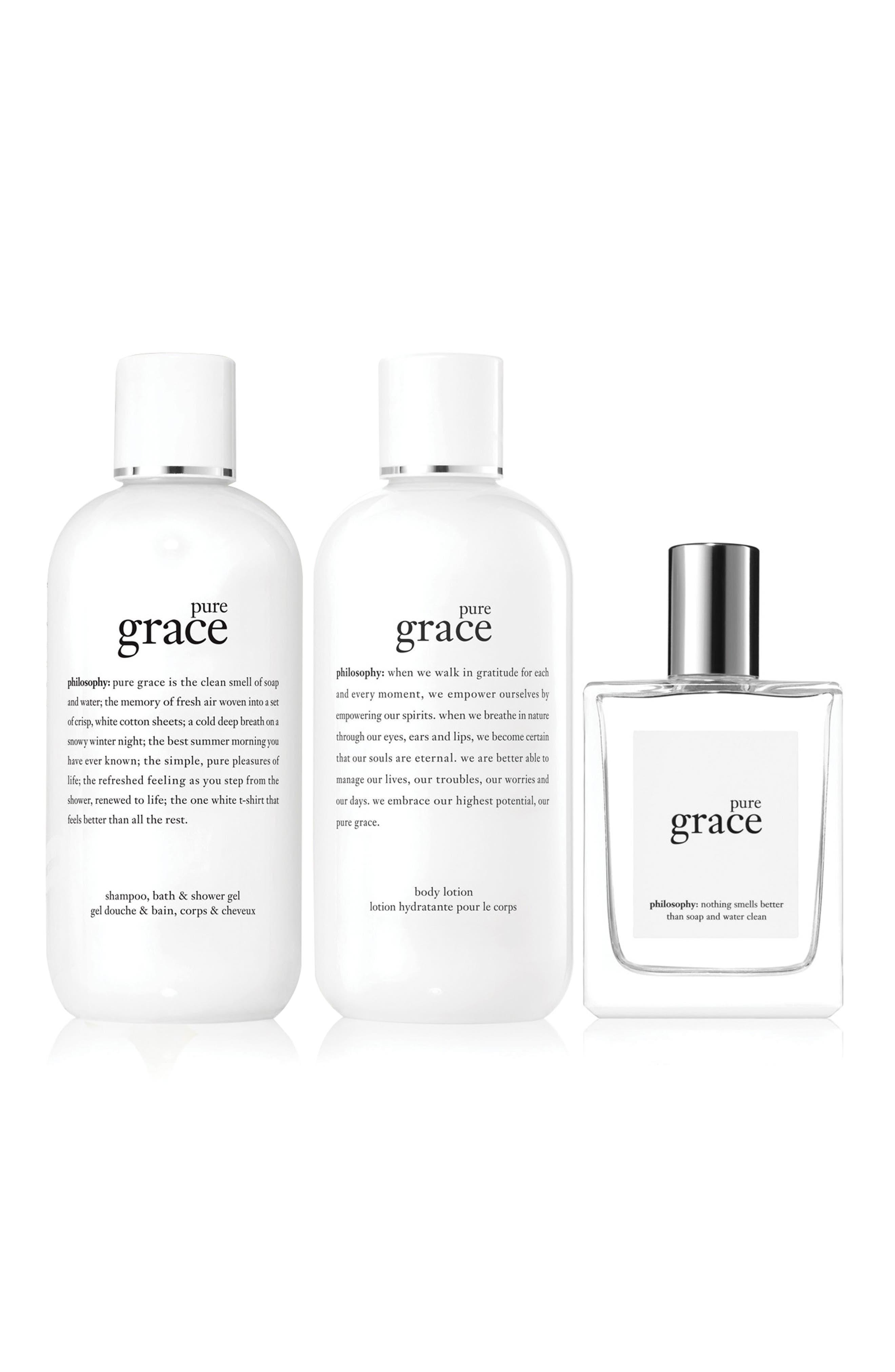 Alternate Image 2  - philosophy pure grace set ($88 Value)