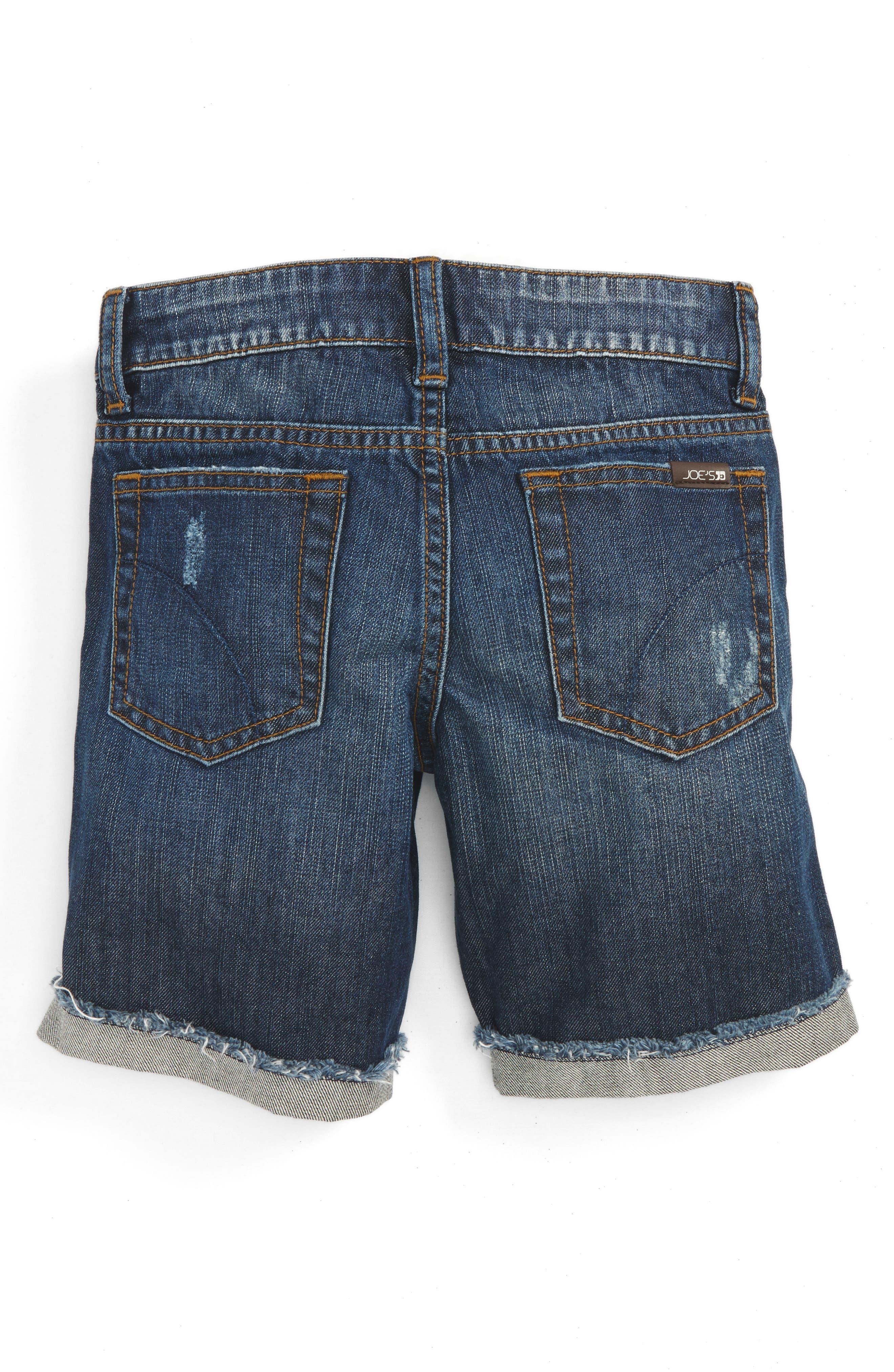 Alternate Image 2  - Joe's Frayed Cuff Bermuda Shorts (Toddler Girls & Little Girls)