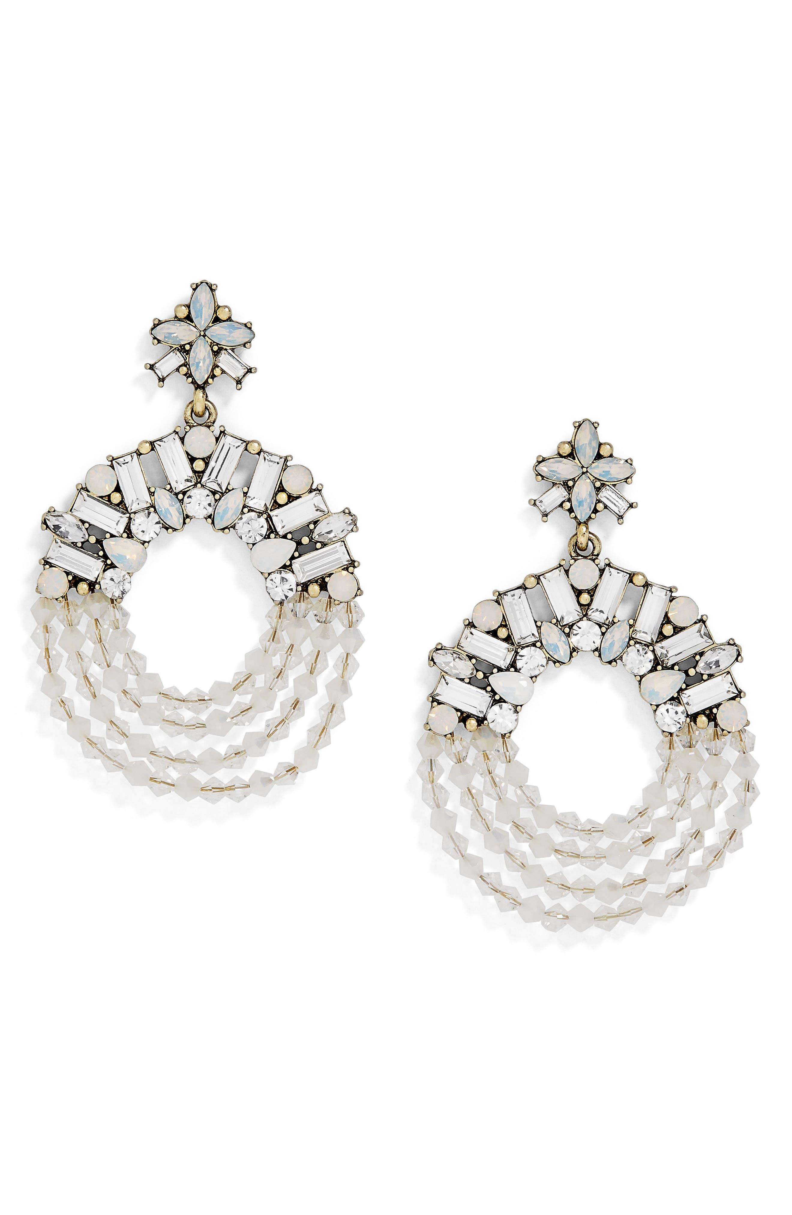 BaubleBar Polar Drop Earrings