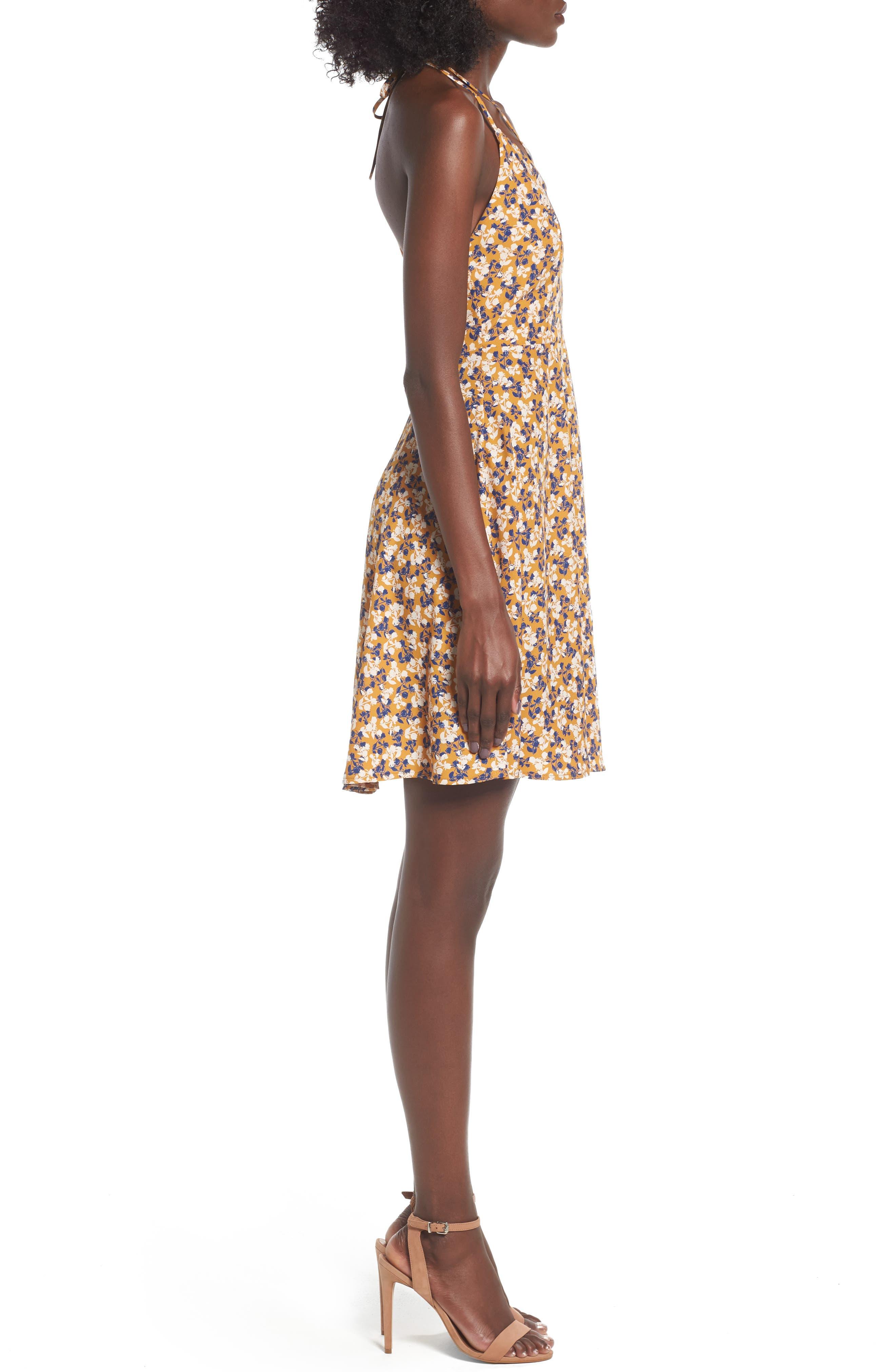 Alternate Image 3  - Soprano Strappy Fit & Flare Dress