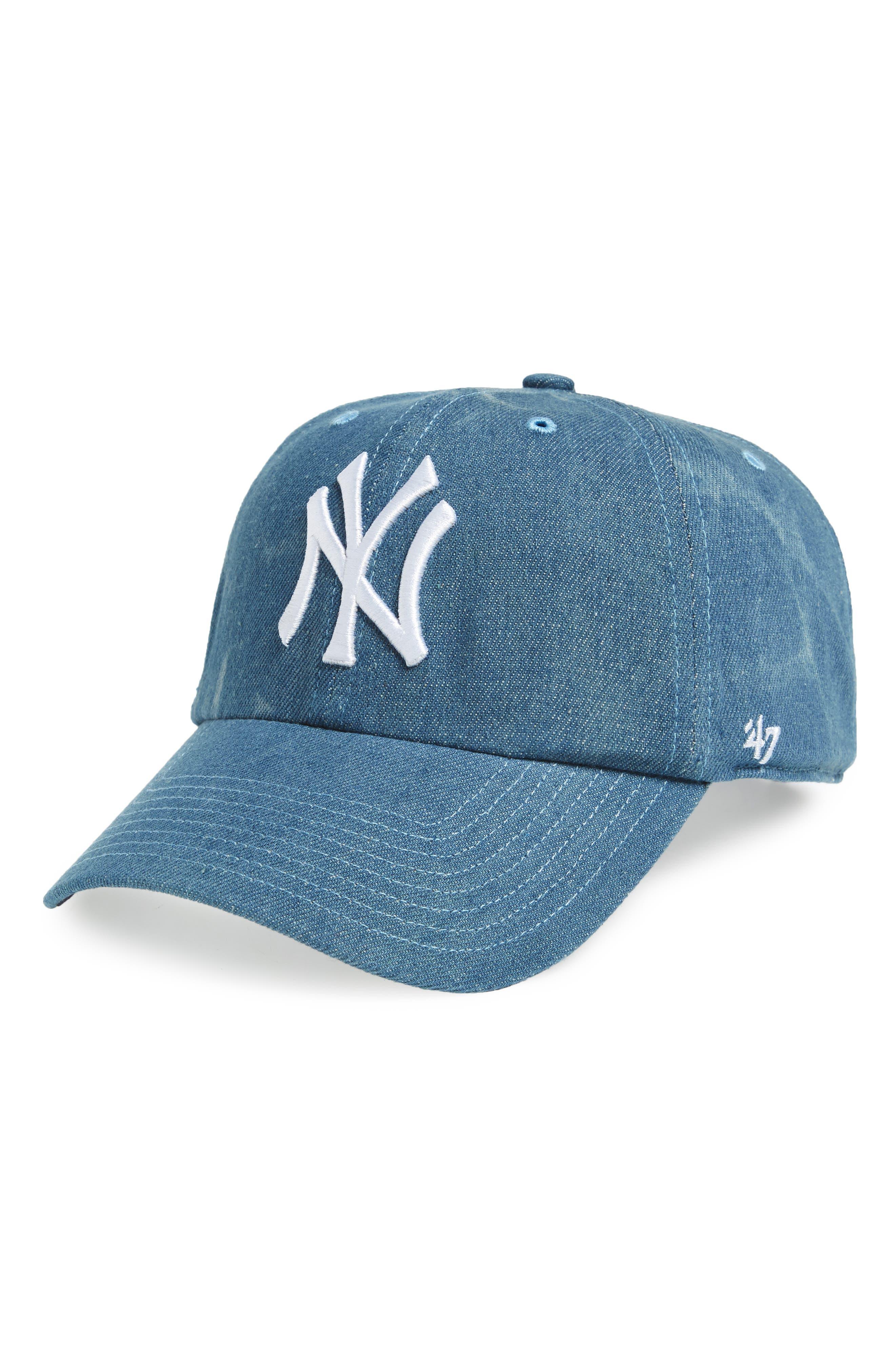 '47 Clean Up NY Yankees Baseball Cap