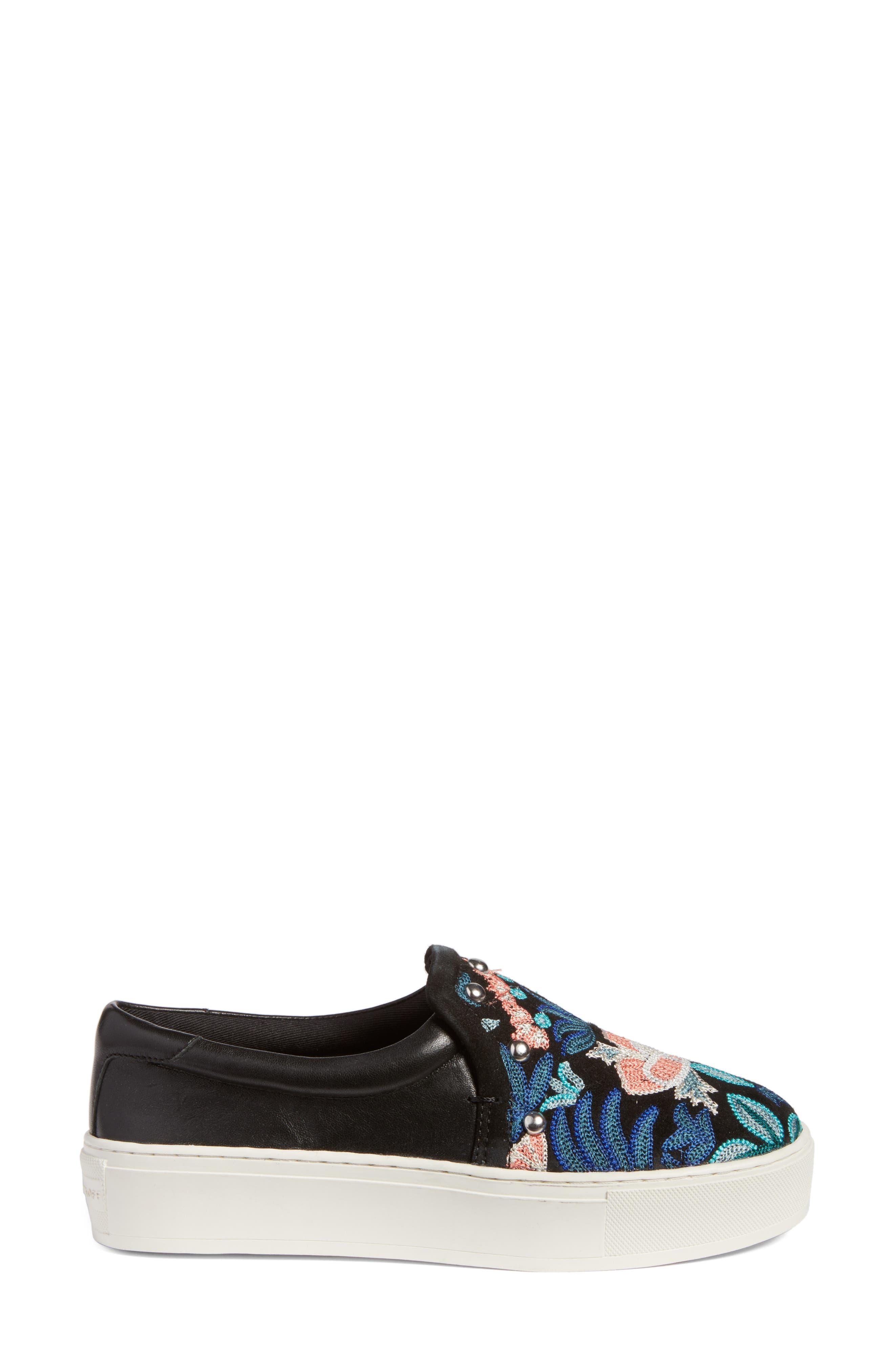 Alternate Image 3  - Rebecca Minkoff Noelle Embellished Slip-On Platform Sneaker (Women)