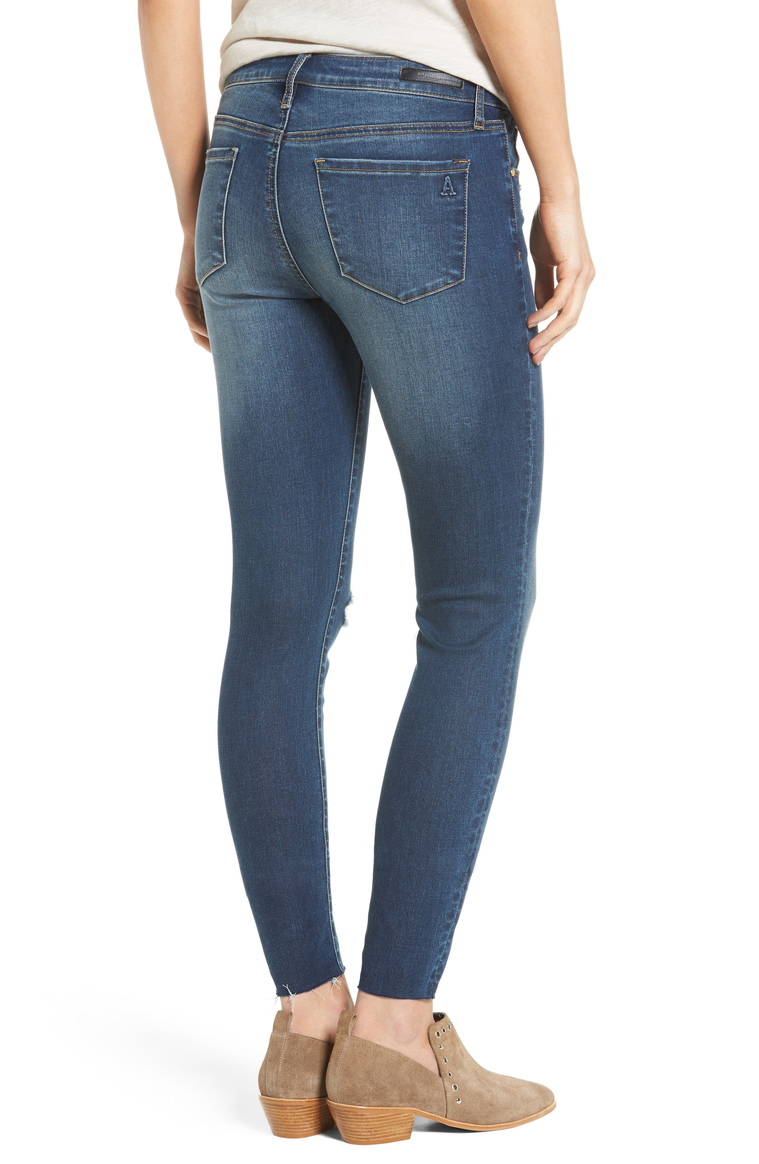 Alternate Image 3  - Articles of Society Sarah Skinny Jeans (Vintage)