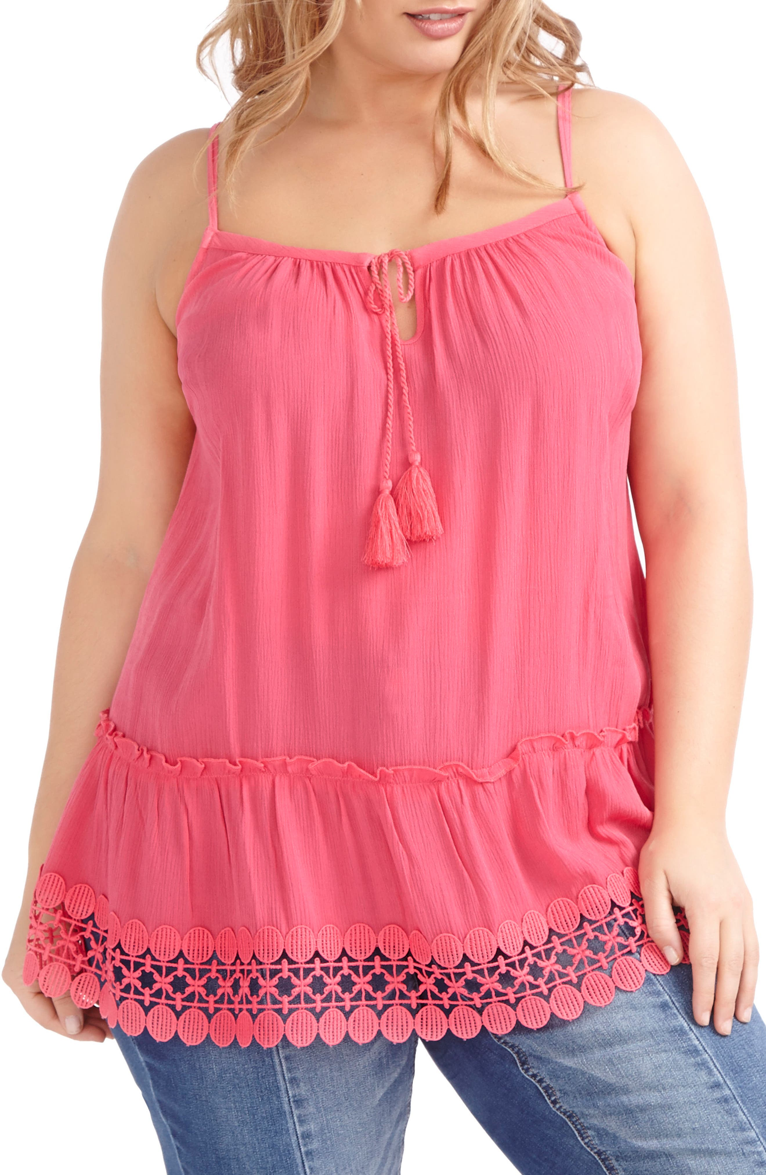 ADDITION ELLE LOVE AND LEGEND Tunic Tank (Plus Size)