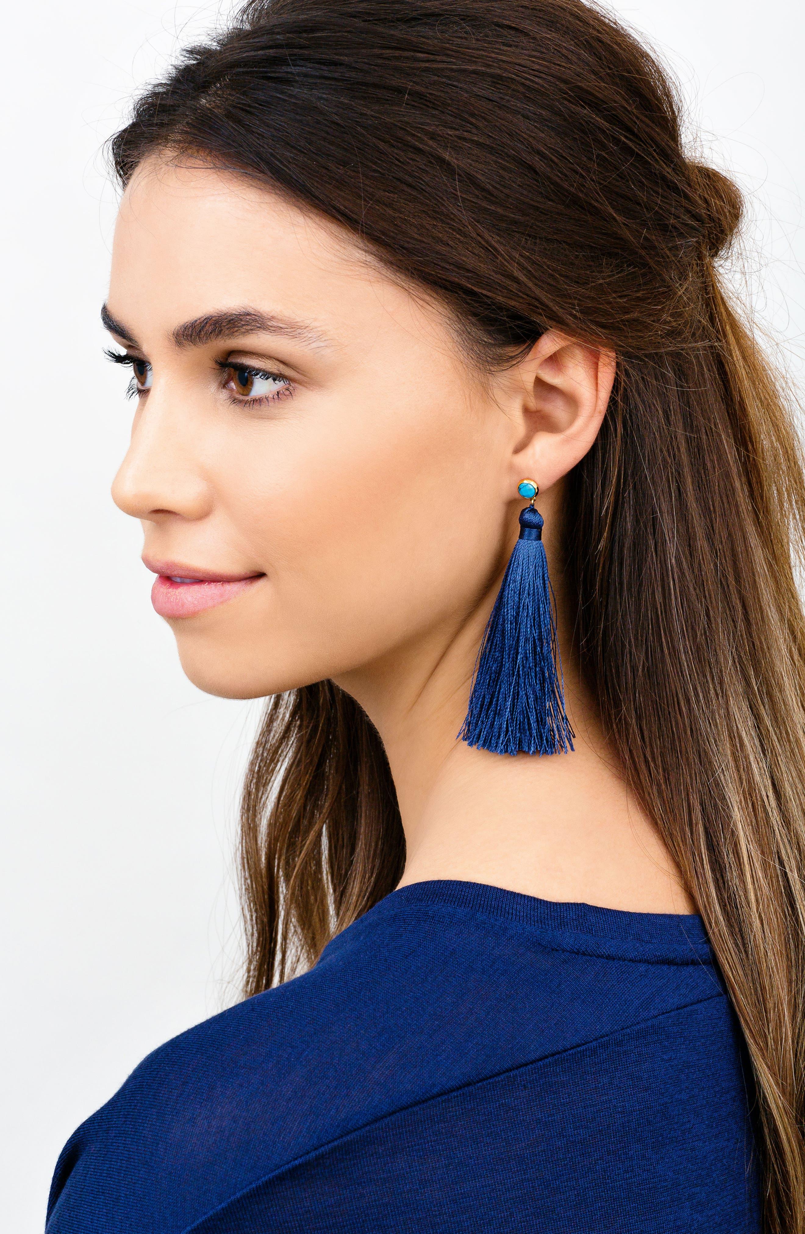 Alternate Image 3  - gorjana Tulum Tassel Earrings