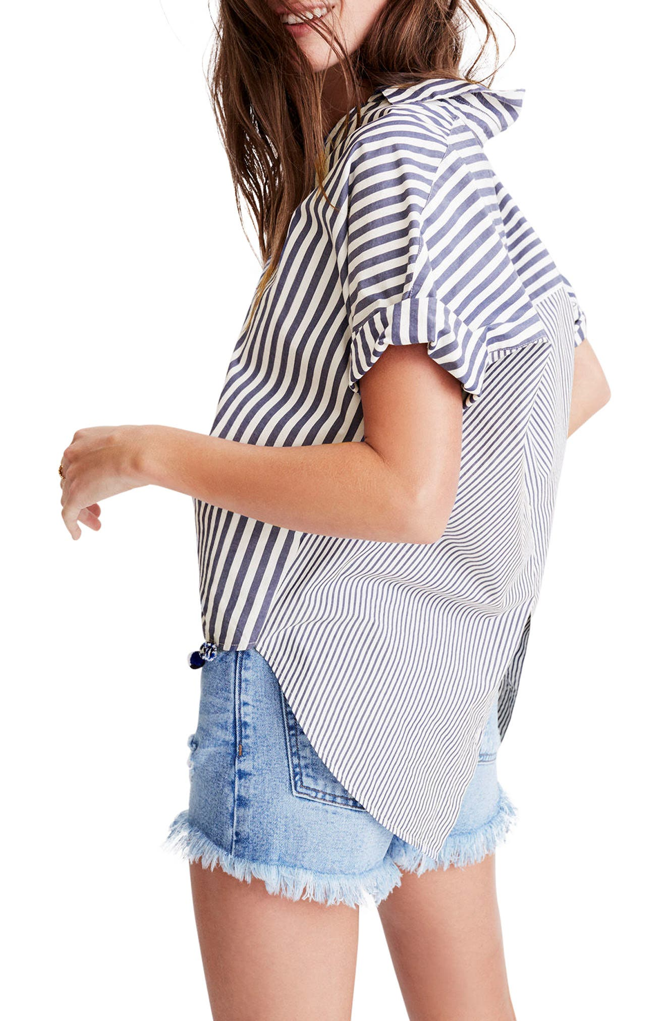 Alternate Image 3  - Madewell Stripe Courier Shirt