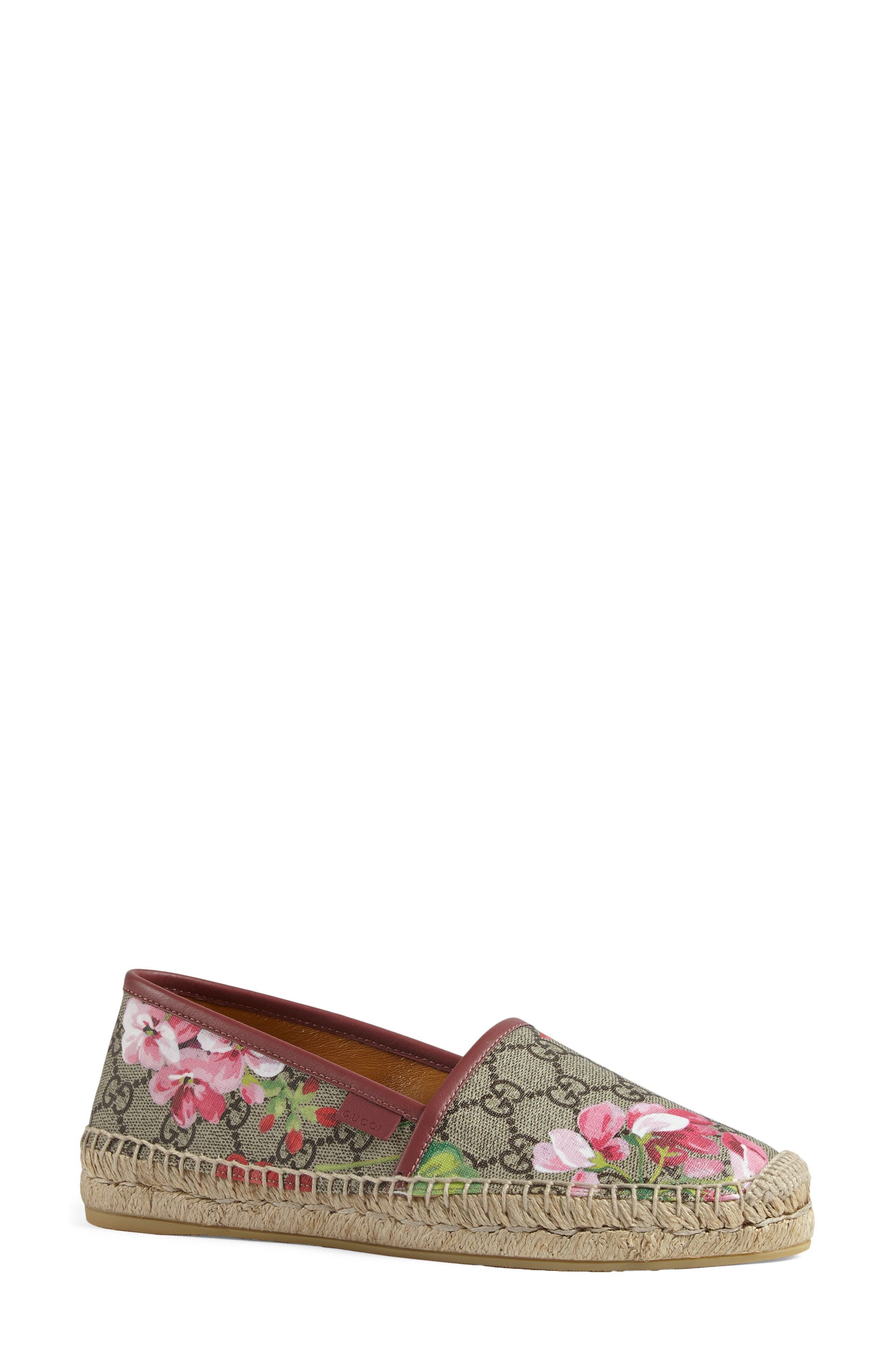 Alternate Image 3  - Gucci 'Pilar' Espadrille Slip-On Flat (Women)