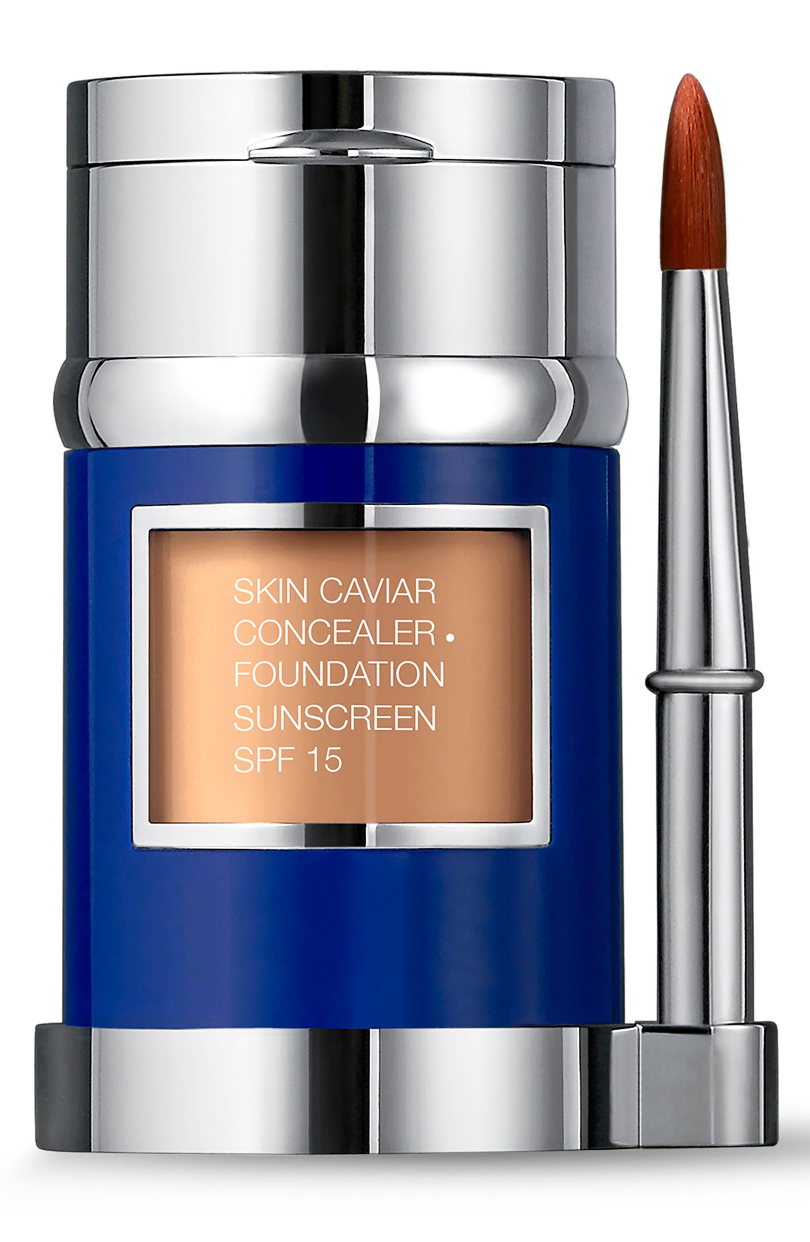 Alternate Image 1 Selected - La Prairie 'Skin Caviar' Concealer + Foundation Sunscreen SPF 15
