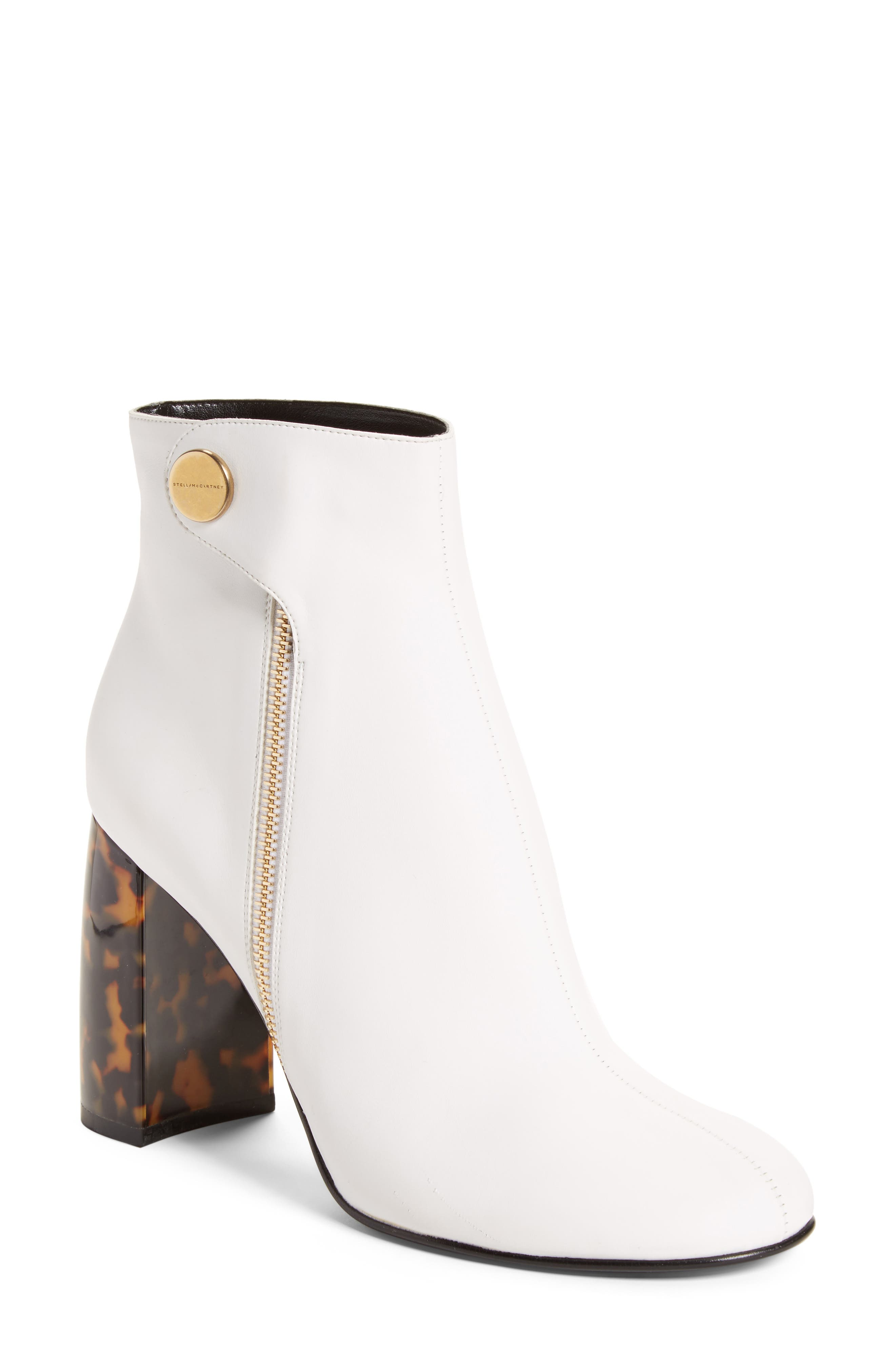 Stella McCartney Block Heel Bootie (Women)