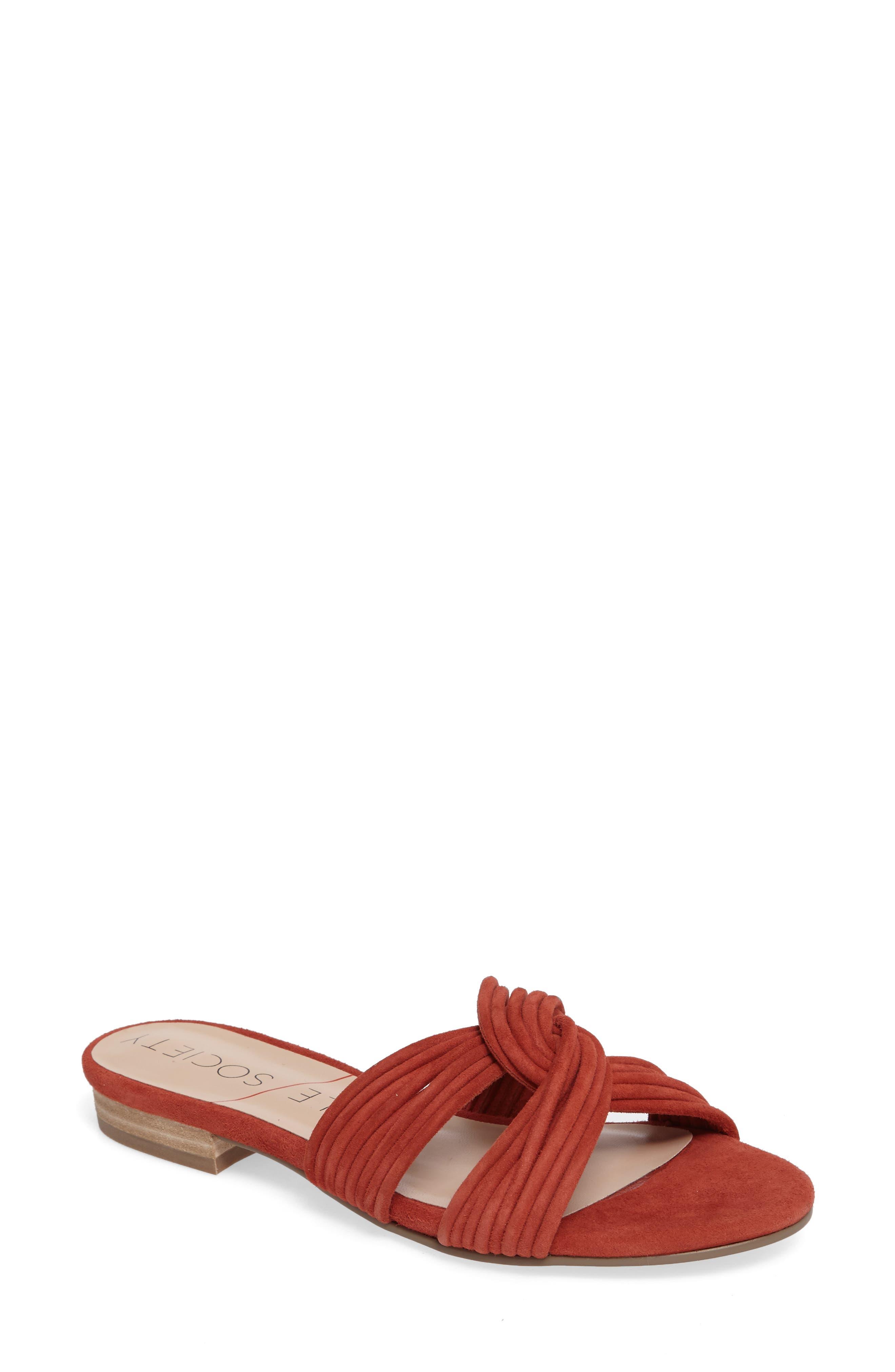 Sole Society Dahlia Flat Sandal (Women)