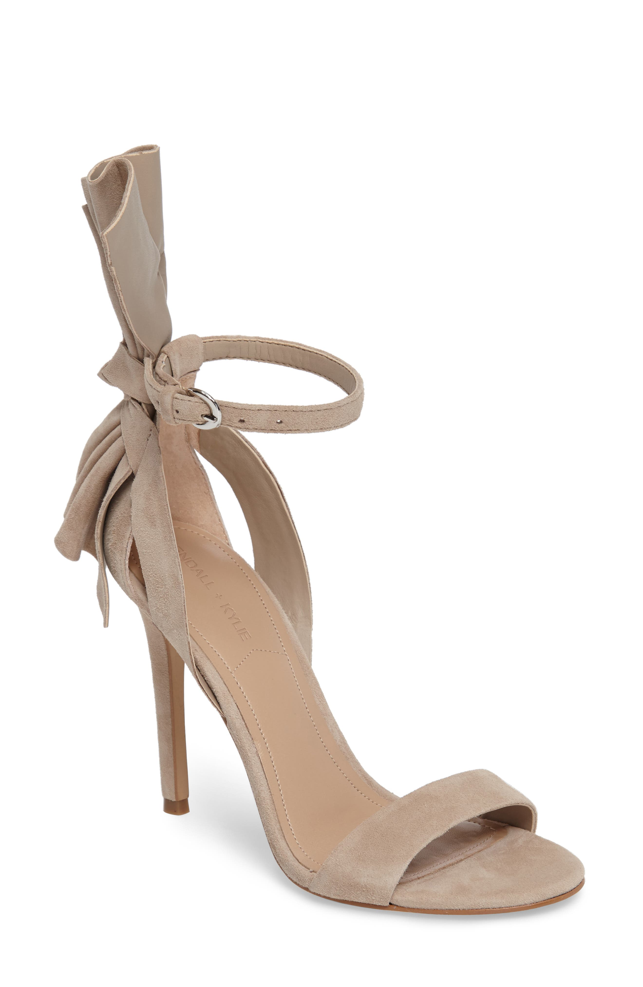 Alternate Image 1 Selected - KENDALL + KYLIE Eve Ankle Strap Sandal (Women)